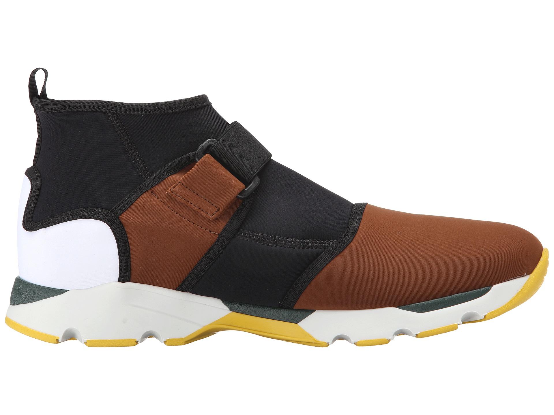 Colour Block neoprene hi top sneakers Marni 39eMQHQ