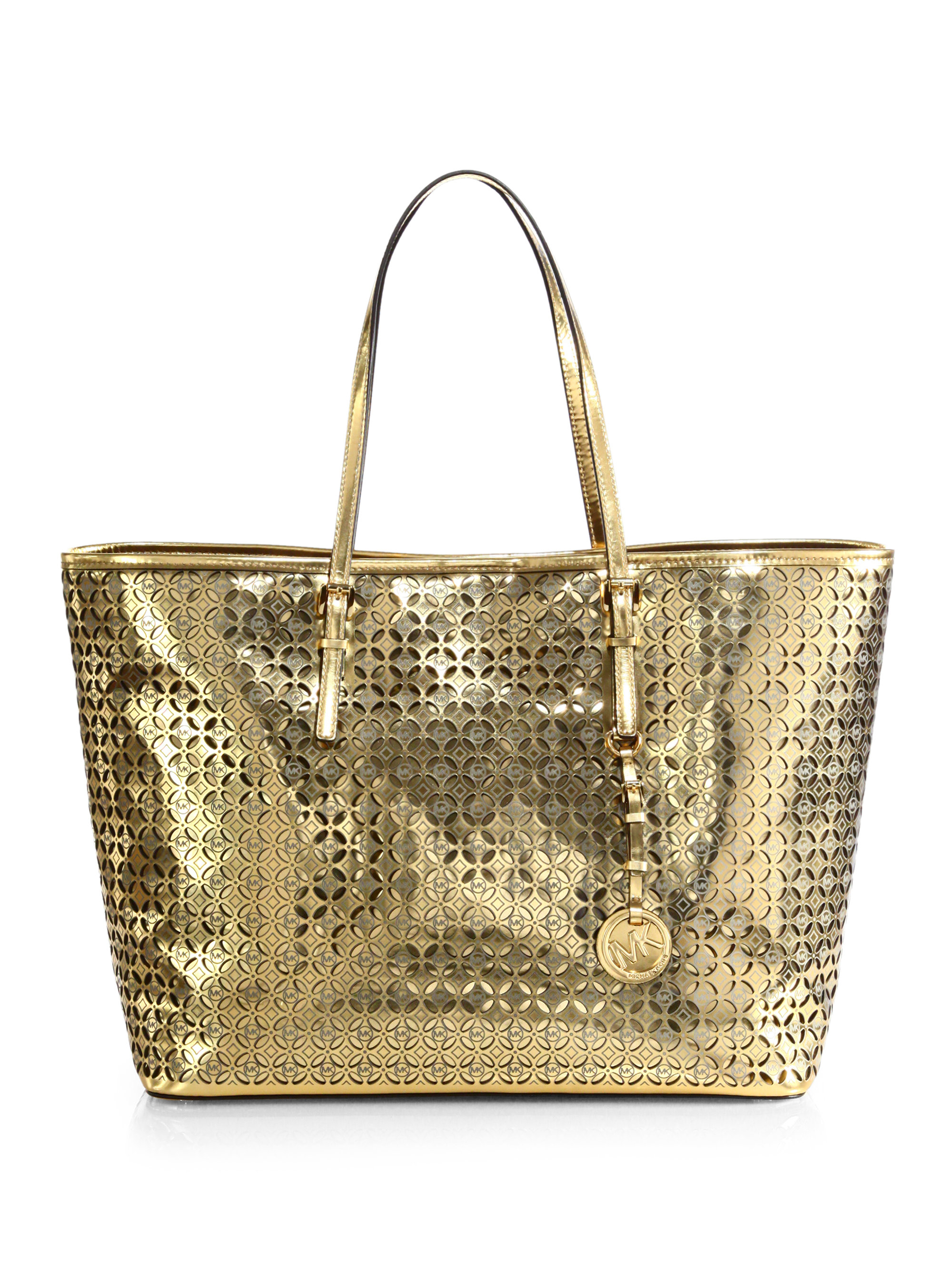 Michael Kors Gold Metallic Purse Best Image Ccdbb