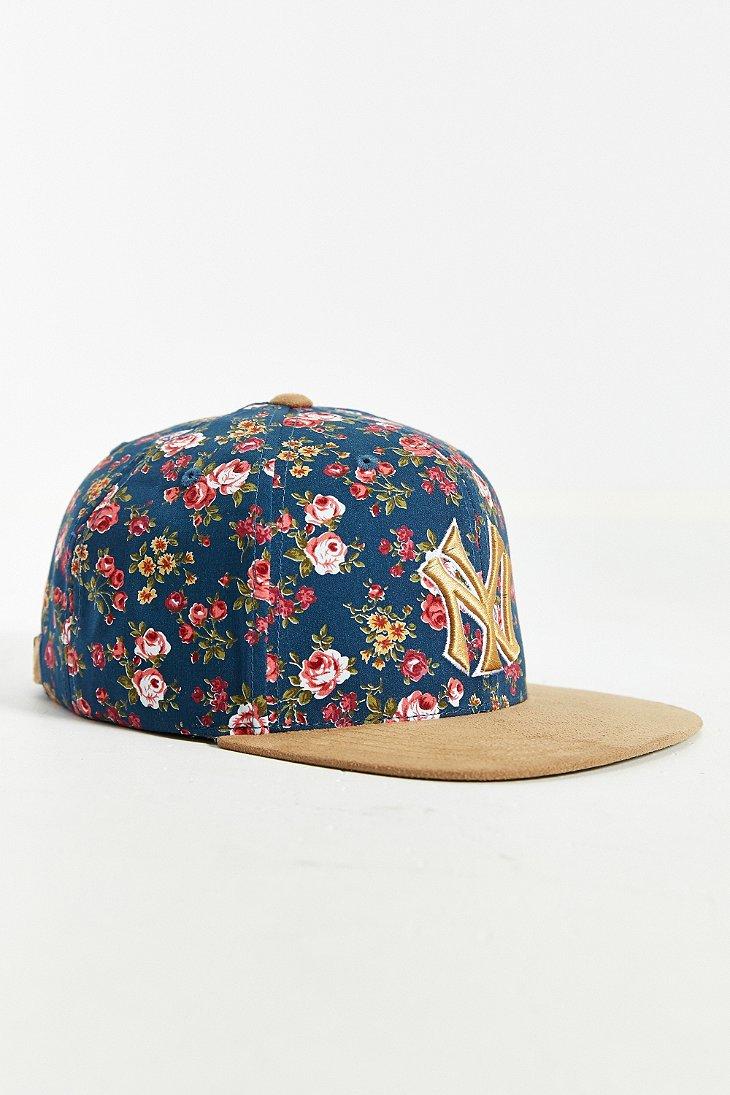 6ac82e6ea9a ... where can i buy lyst american needle off the vine new york yankees hat  in blue