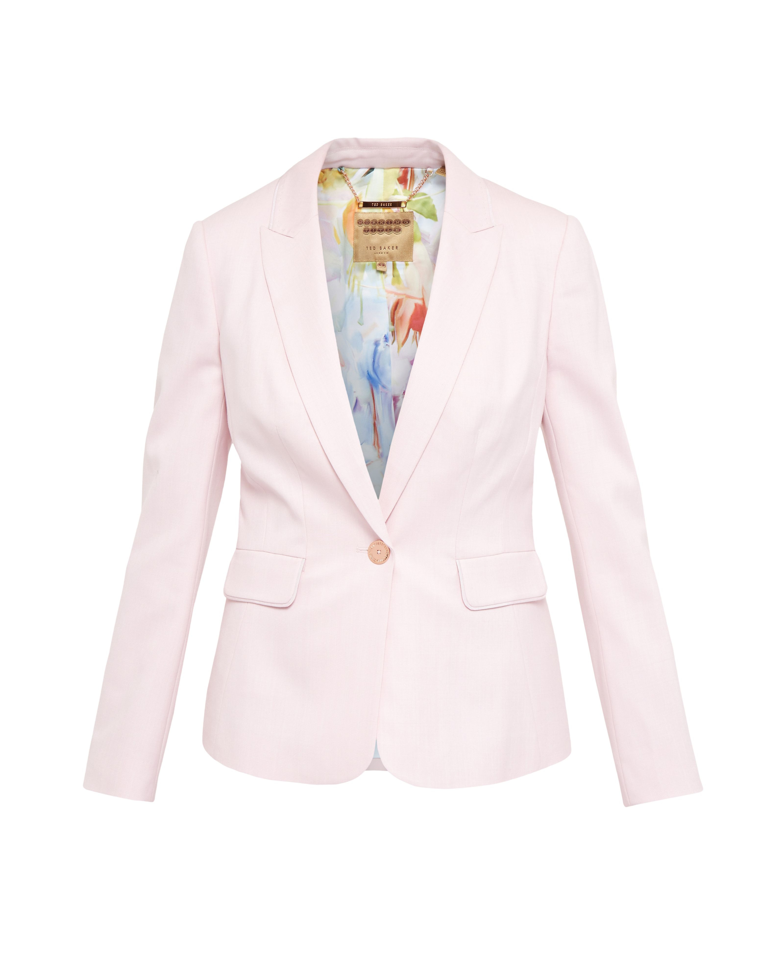 Ted baker Soreli Pastel Tailored Jacket in Pink   Lyst