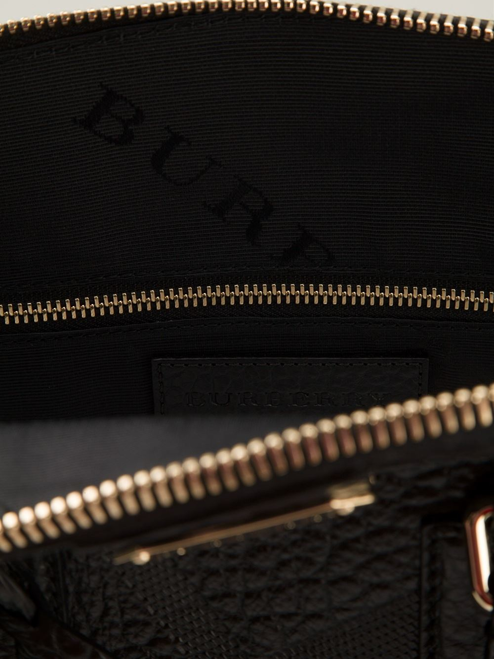 Burberry The Medium Orchard Tote in Black