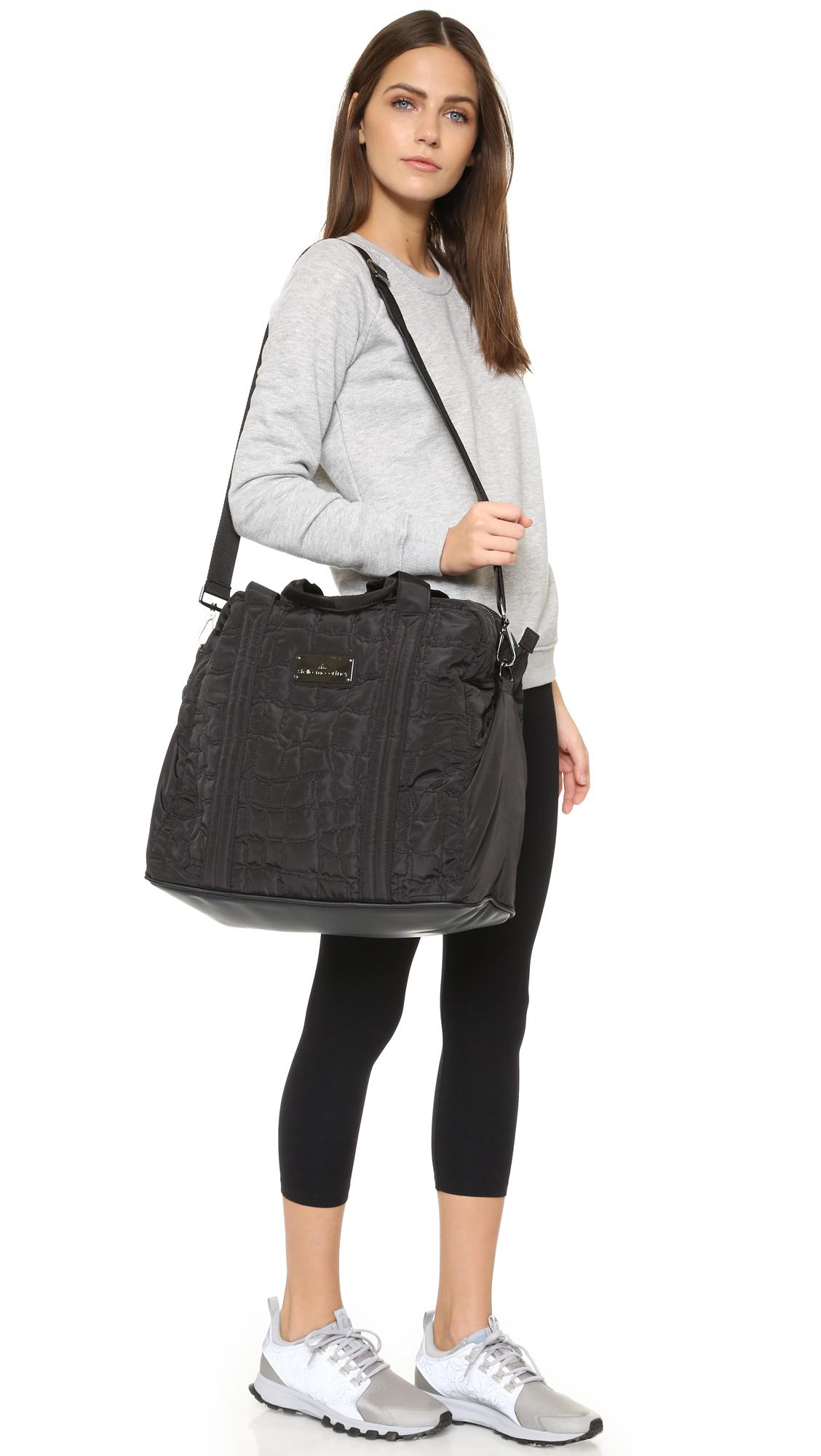 ... on sale 76373 84e93 Adidas By Stella Mccartney Essentials Bag in Black  - Lyst ... a5800dce42