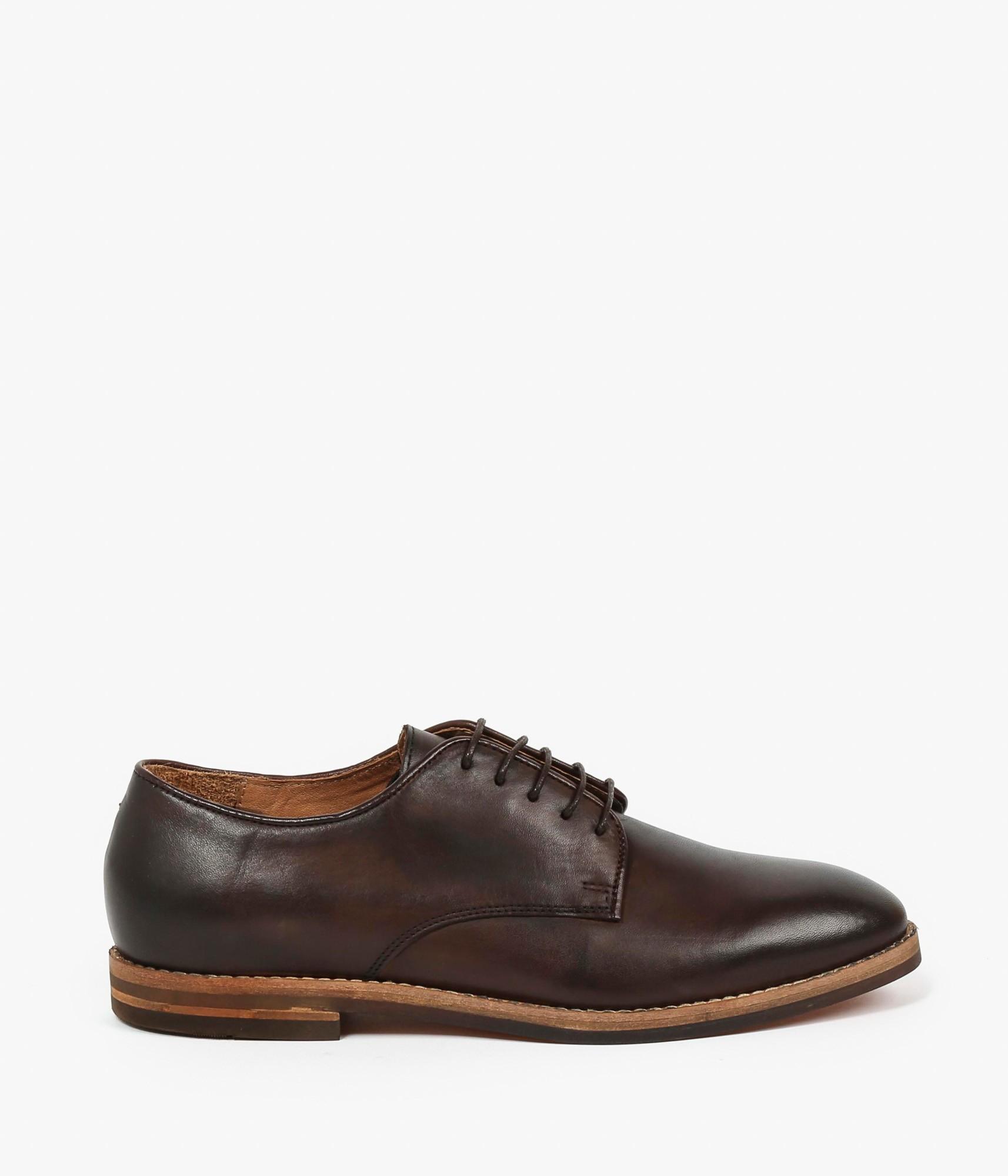 h by hudson hadstone shoes in brown for men black lyst. Black Bedroom Furniture Sets. Home Design Ideas