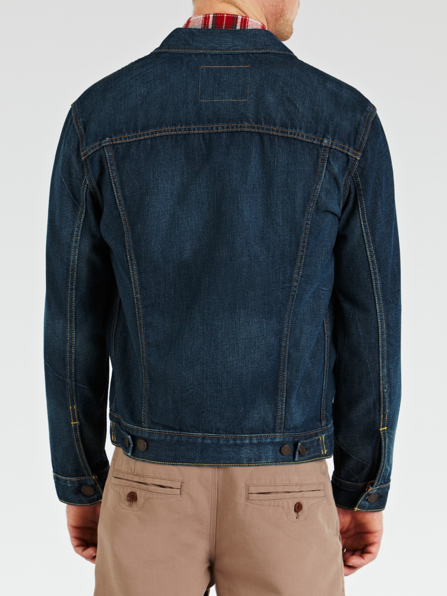 Levi's Levi's Rinse Denim Trucker Jacket in Blue for Men