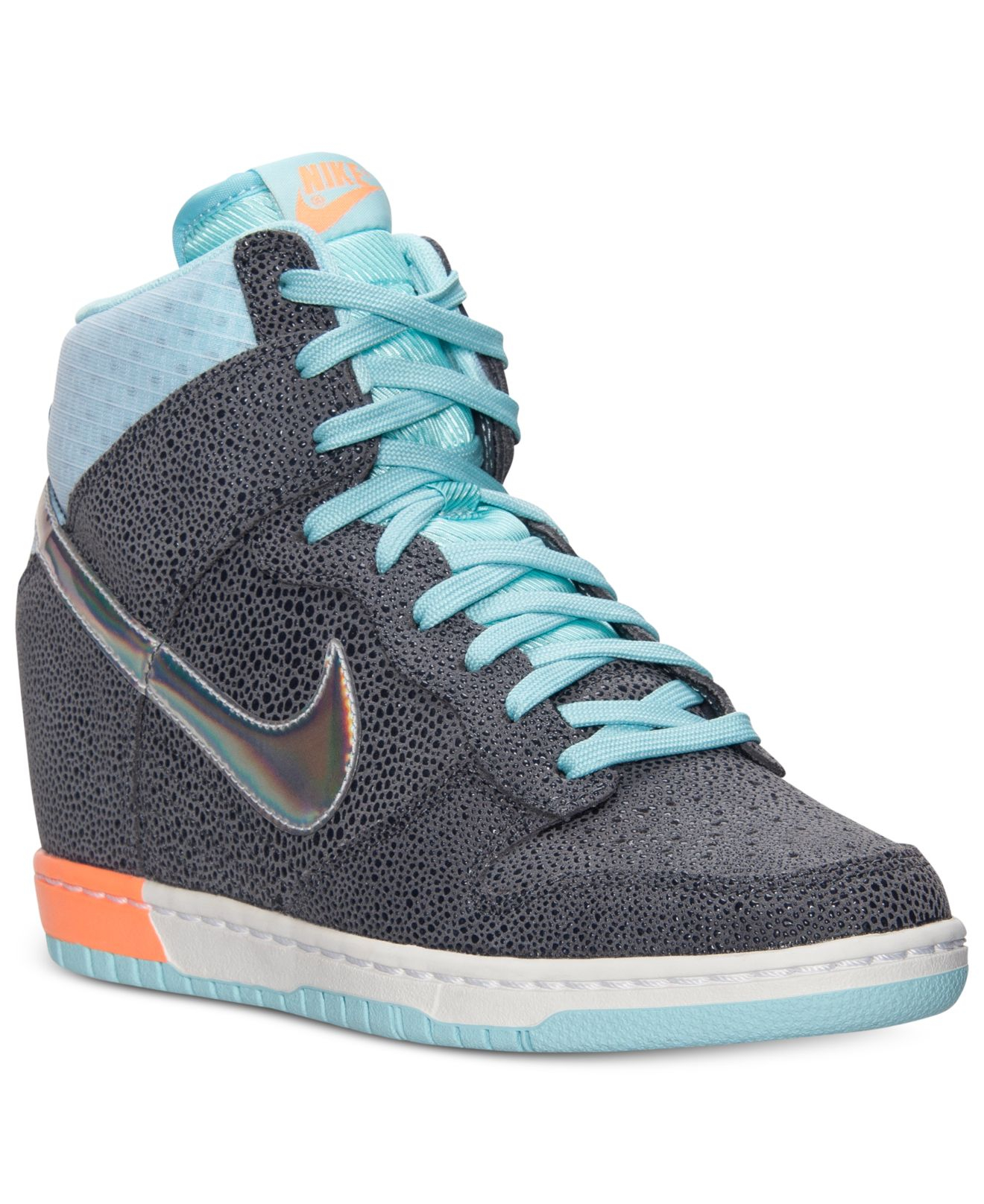 finest selection 6bb3c 56654 Lyst - Nike WomenS Dunk Sky High Premium Casual Sneakers Fro
