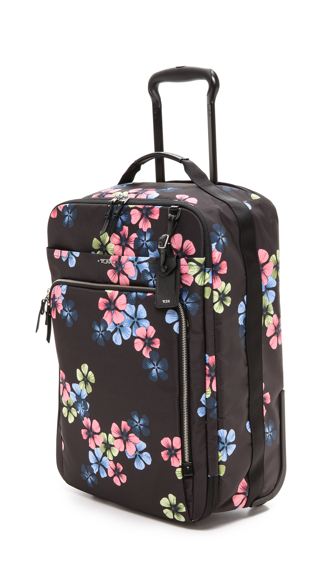 Tumi Synthetic Tumi Black Floral Lyst