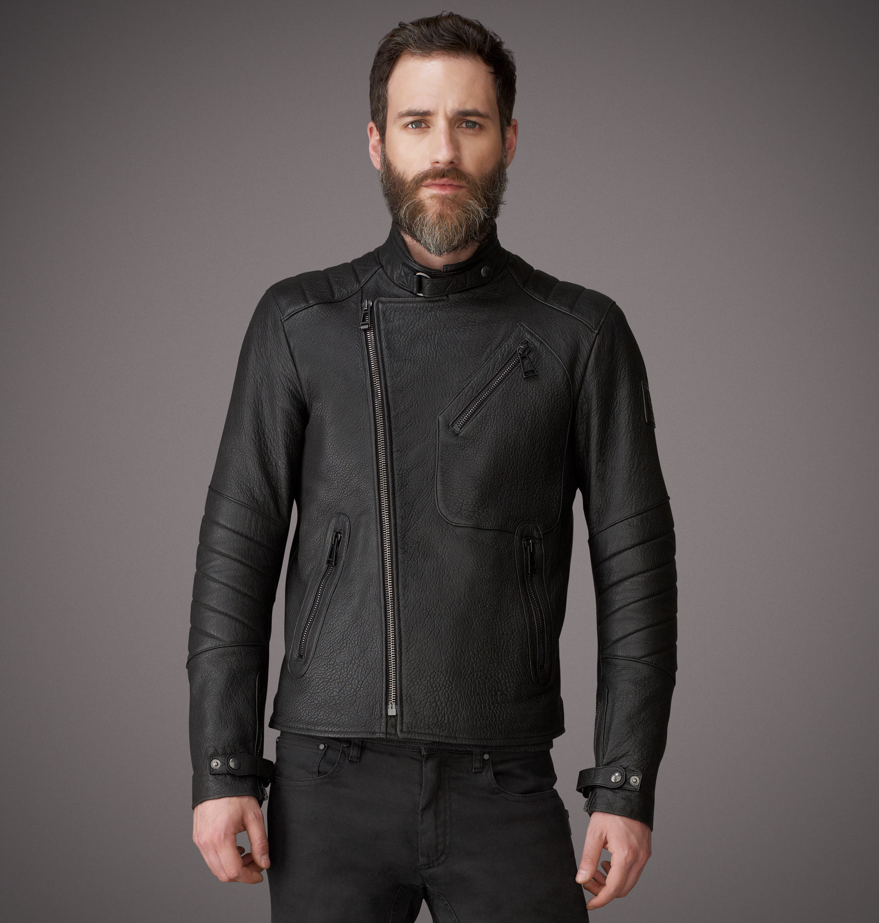 Belstaff Leather Jacket Kendal