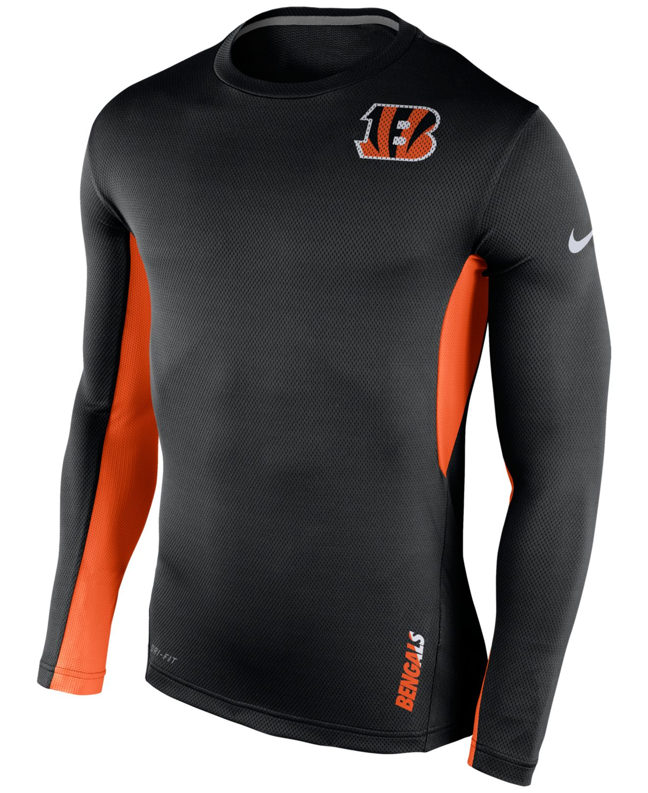Lyst - Nike Men s Long-sleeve Cincinnati Bengals Vapor T-shirt in ... cd85e8db3