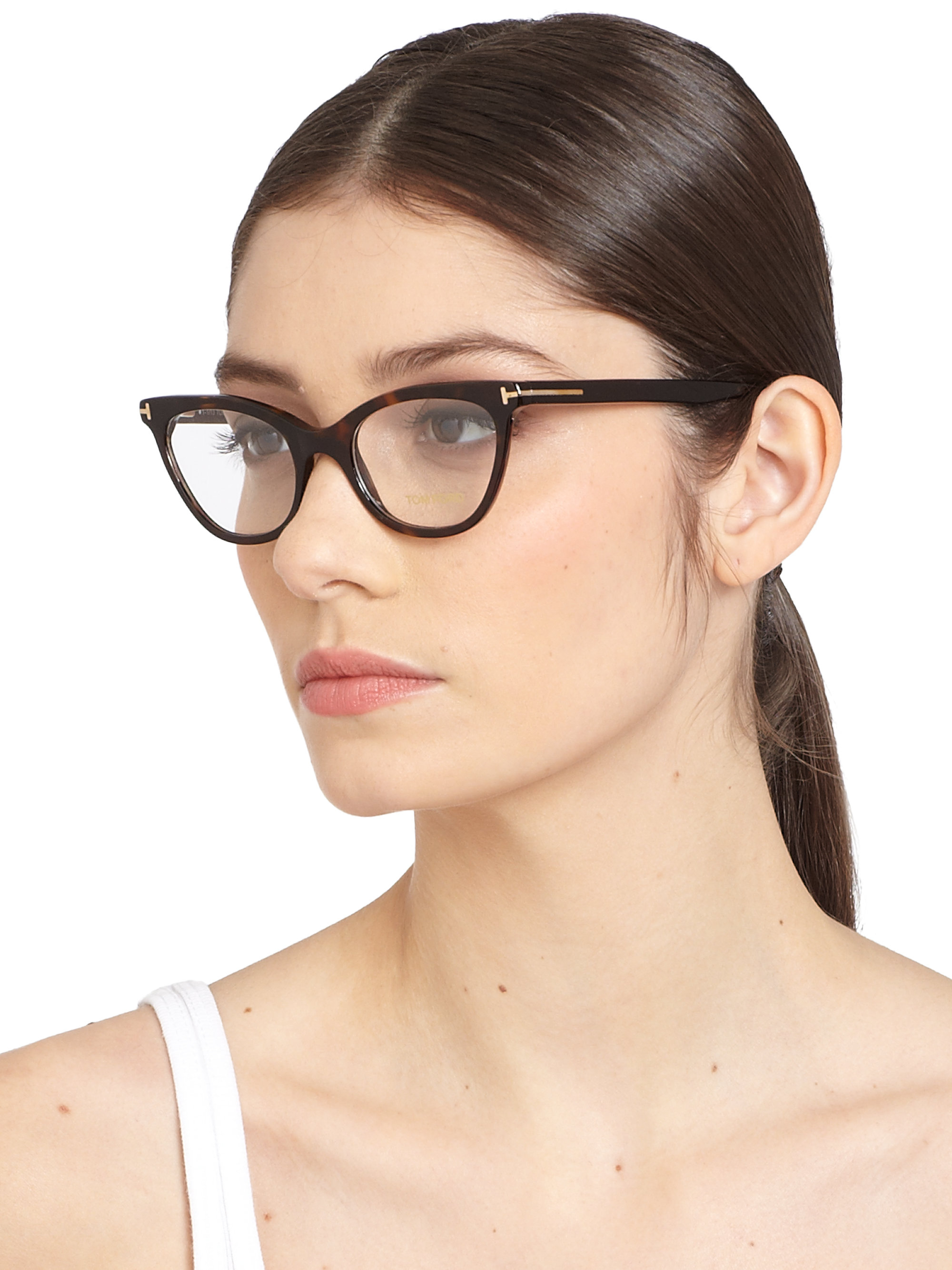tomford tom eyewear women brown eye nowtheglasses copy tf ford cat s glasses