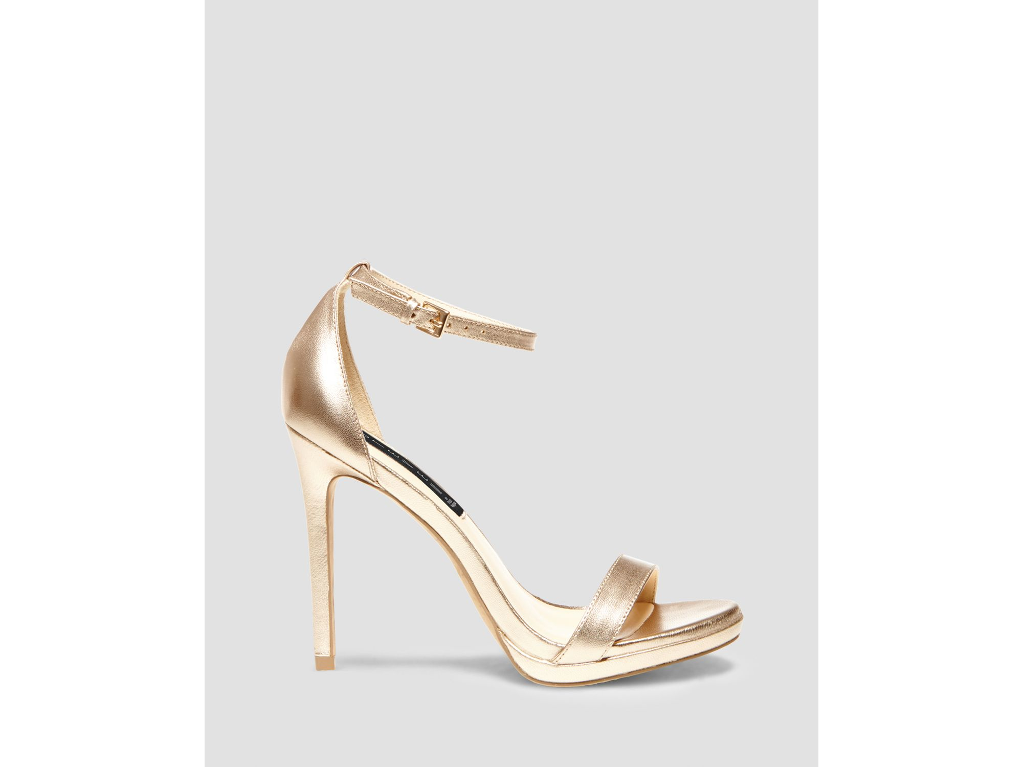 7ab1326498a Lyst - Steven by Steve Madden Sandals - Rykie Ankle Strap High Heel ...