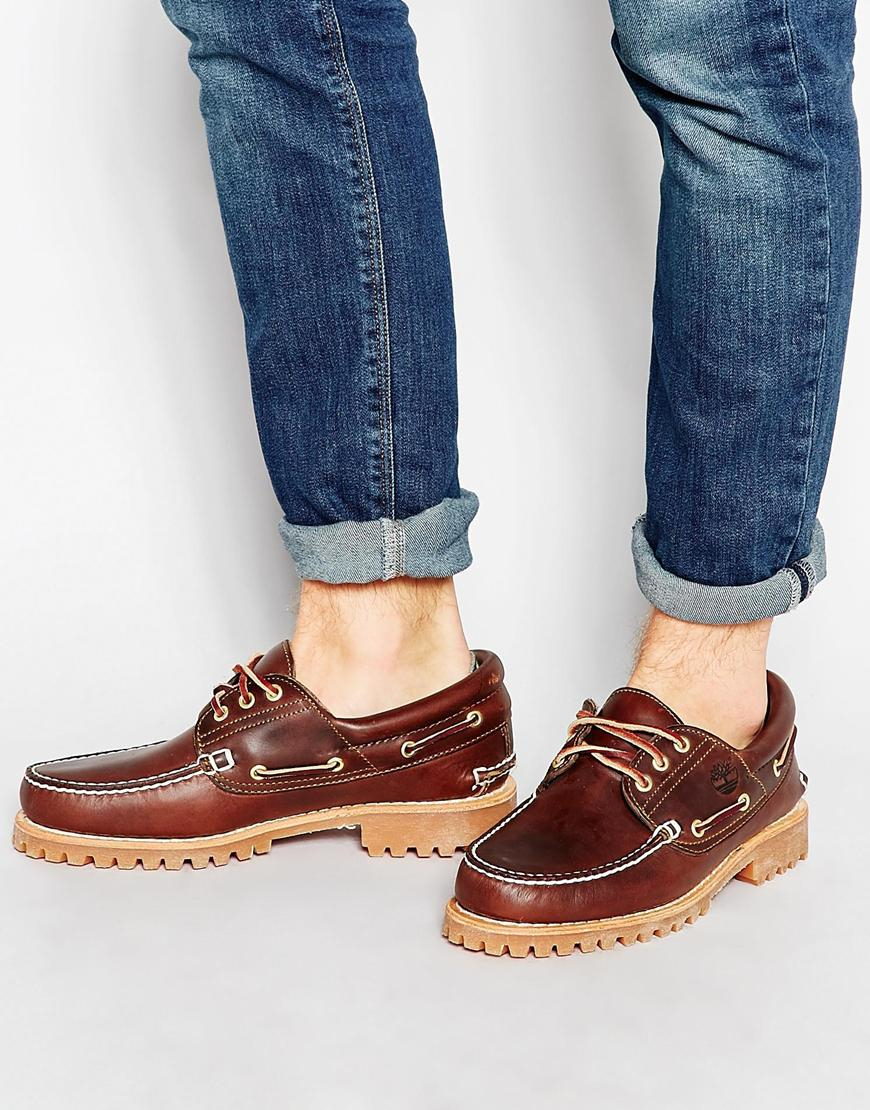 Boat For Shoes Lug Men Lyst Brown Timberland Classic In q3S5LAcRj4