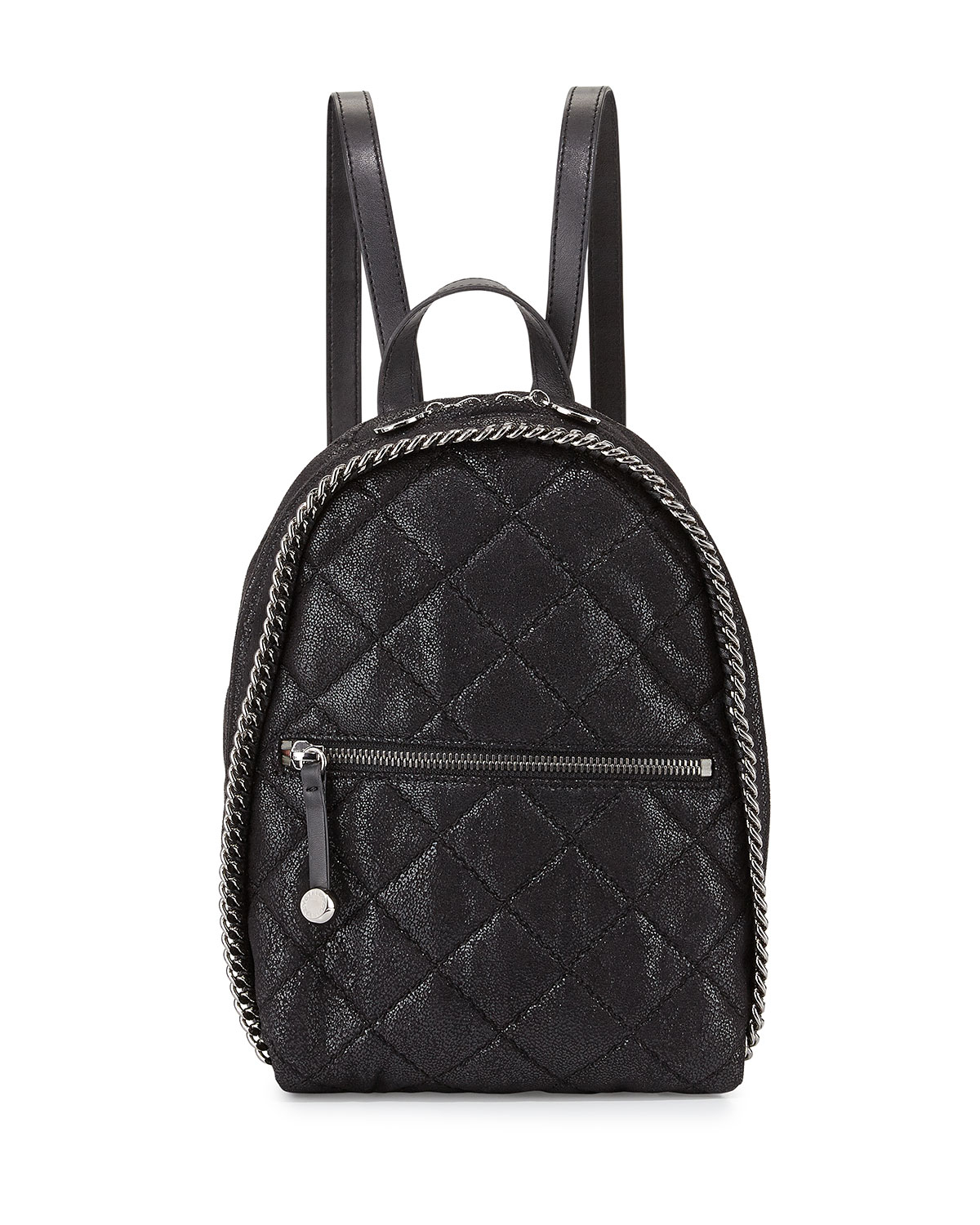 Lyst Stella Mccartney Mini Falabella Quilted Backpack In