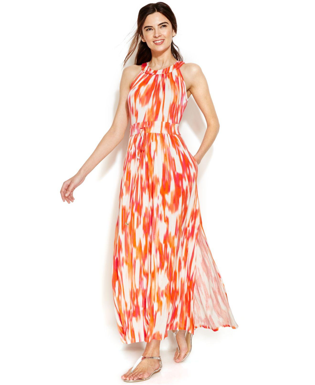 Maxi calvin klein dress