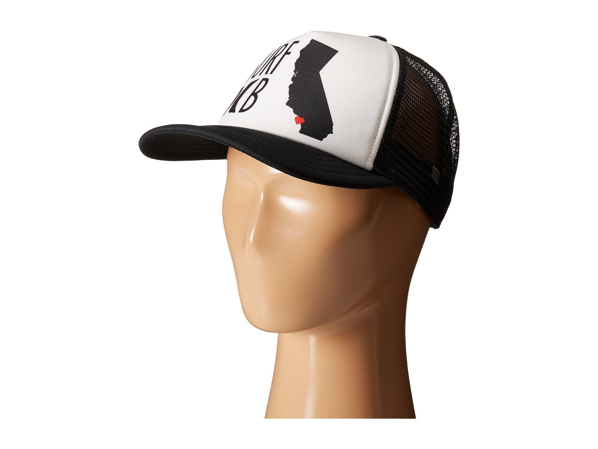 brand new 78e45 44241 ... purchase hurley beach cruiser mens snapback hat lyst hurley destination  trucker hat in black for men