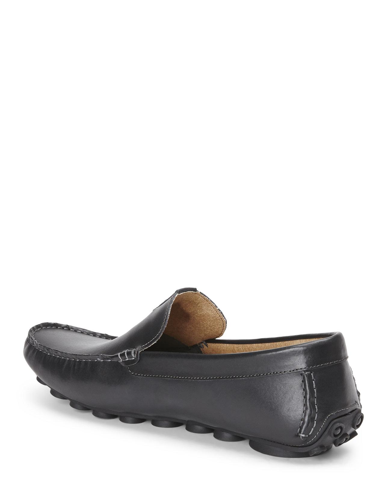 Steve madden Black Hannigan Loafer in Black | Lyst
