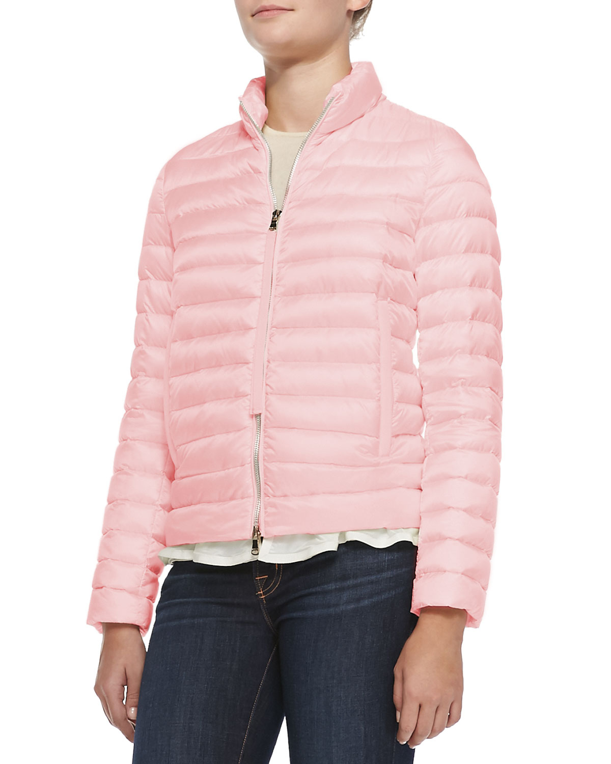 Moncler Blein Puffer Jacket In Pink Lyst