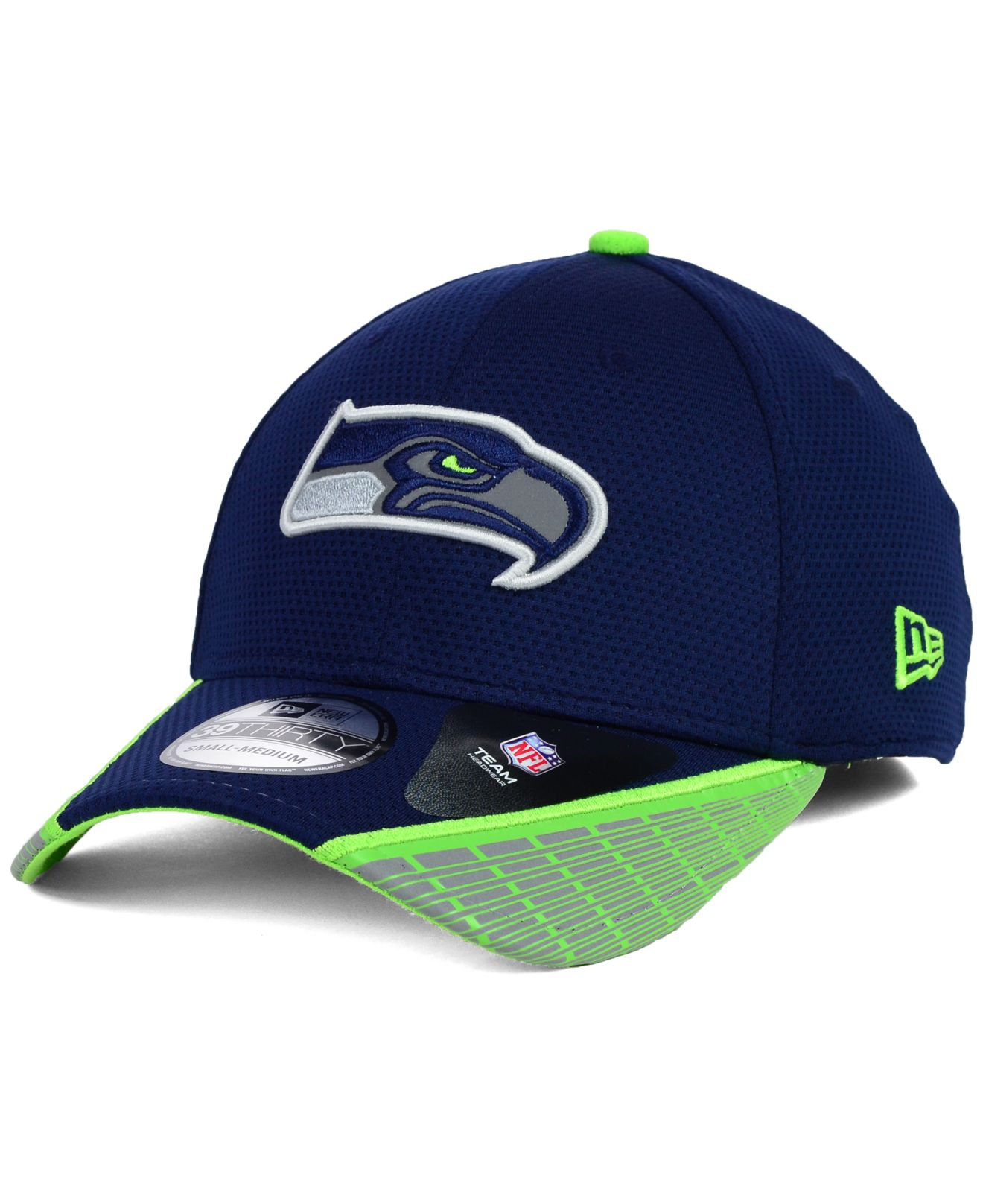 competitive price 76b72 f23a2 new zealand 2014 navy seattle seahawks nfl new era vertical strike 39thirty  cap f7438 8df4f