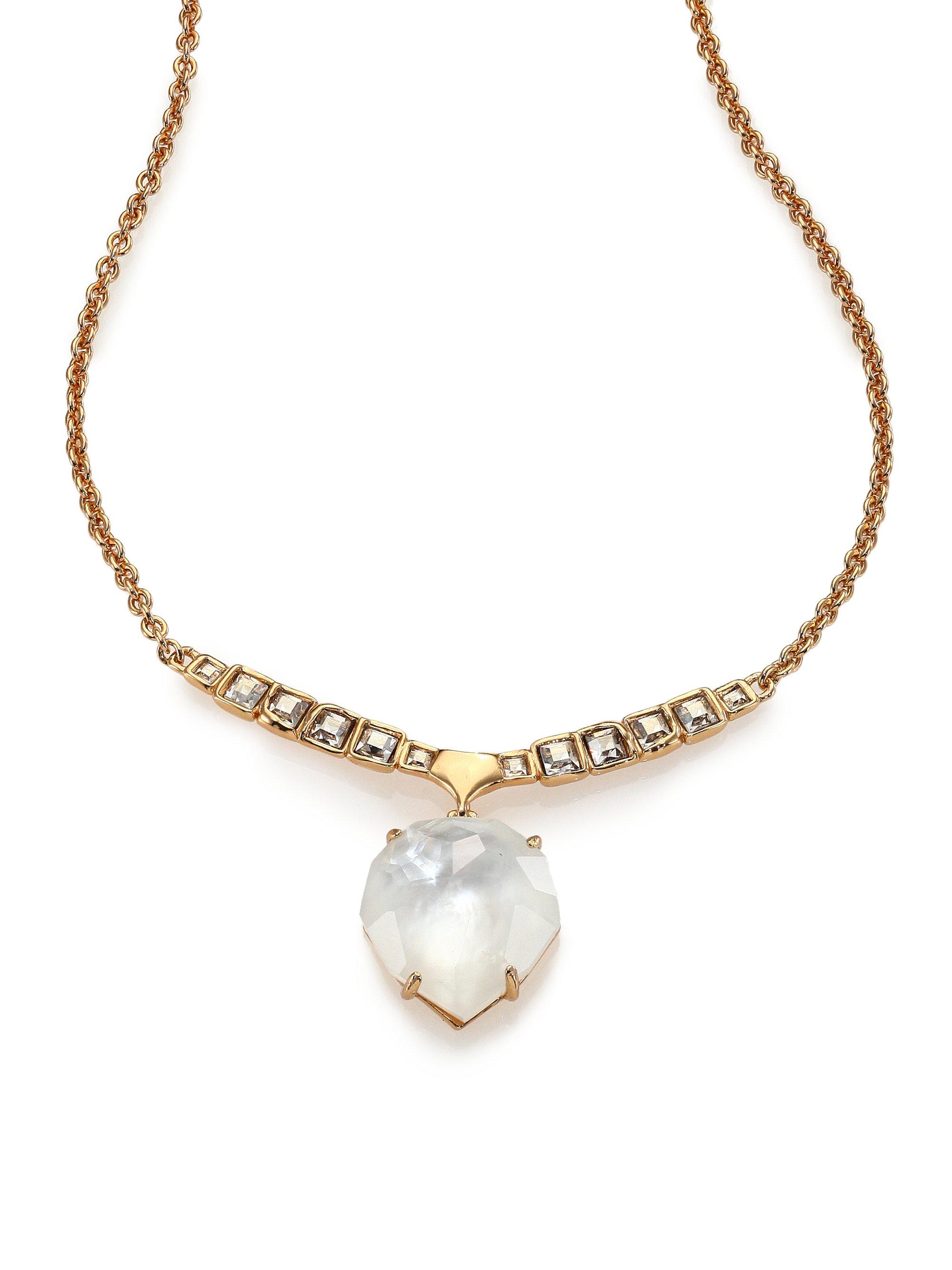 Lyst - Alexis bittar Miss Havisham Mosaic Mother-of-pearl ...