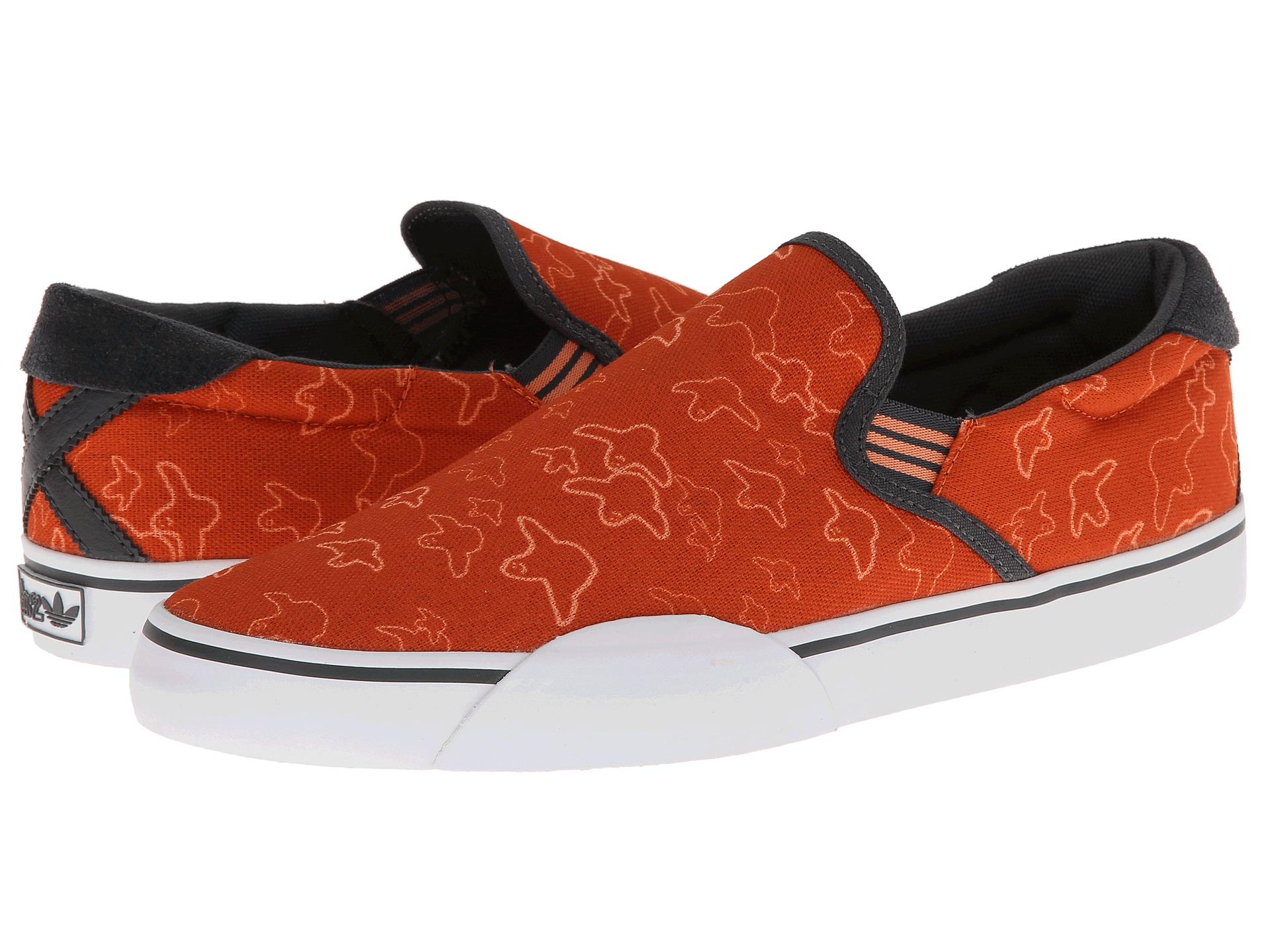 adidas Gonz Slip in Red for Men - Lyst