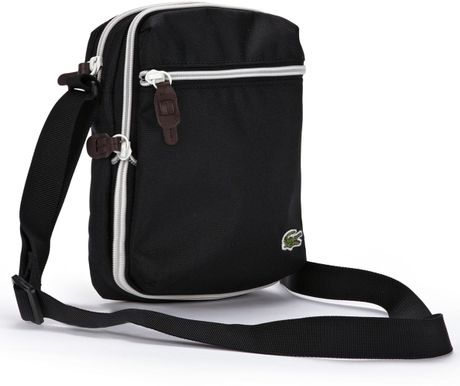 Lacoste Lacoste Mens Bag in Black for Men
