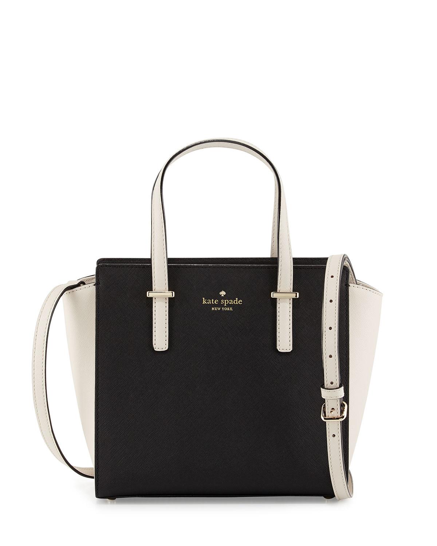 581a42f19 Lyst - Kate Spade Cedar Street Small Hayden Tote Bag in Black