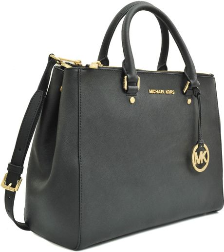 michael kors double zip tote jet set travel bag in gray jet lyst. Black Bedroom Furniture Sets. Home Design Ideas