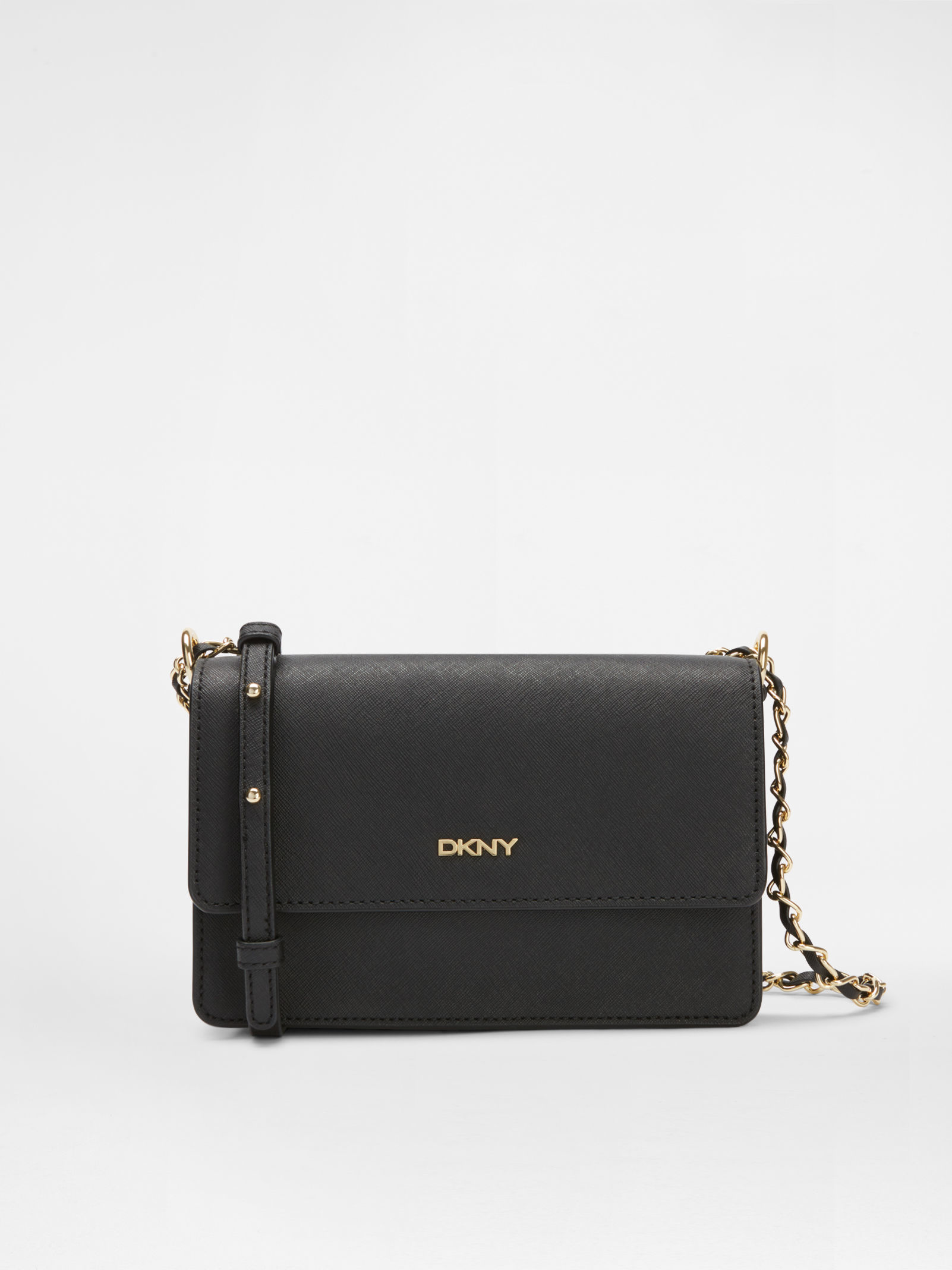 Lyst - DKNY Chain Crossbody in Black 054764591c920