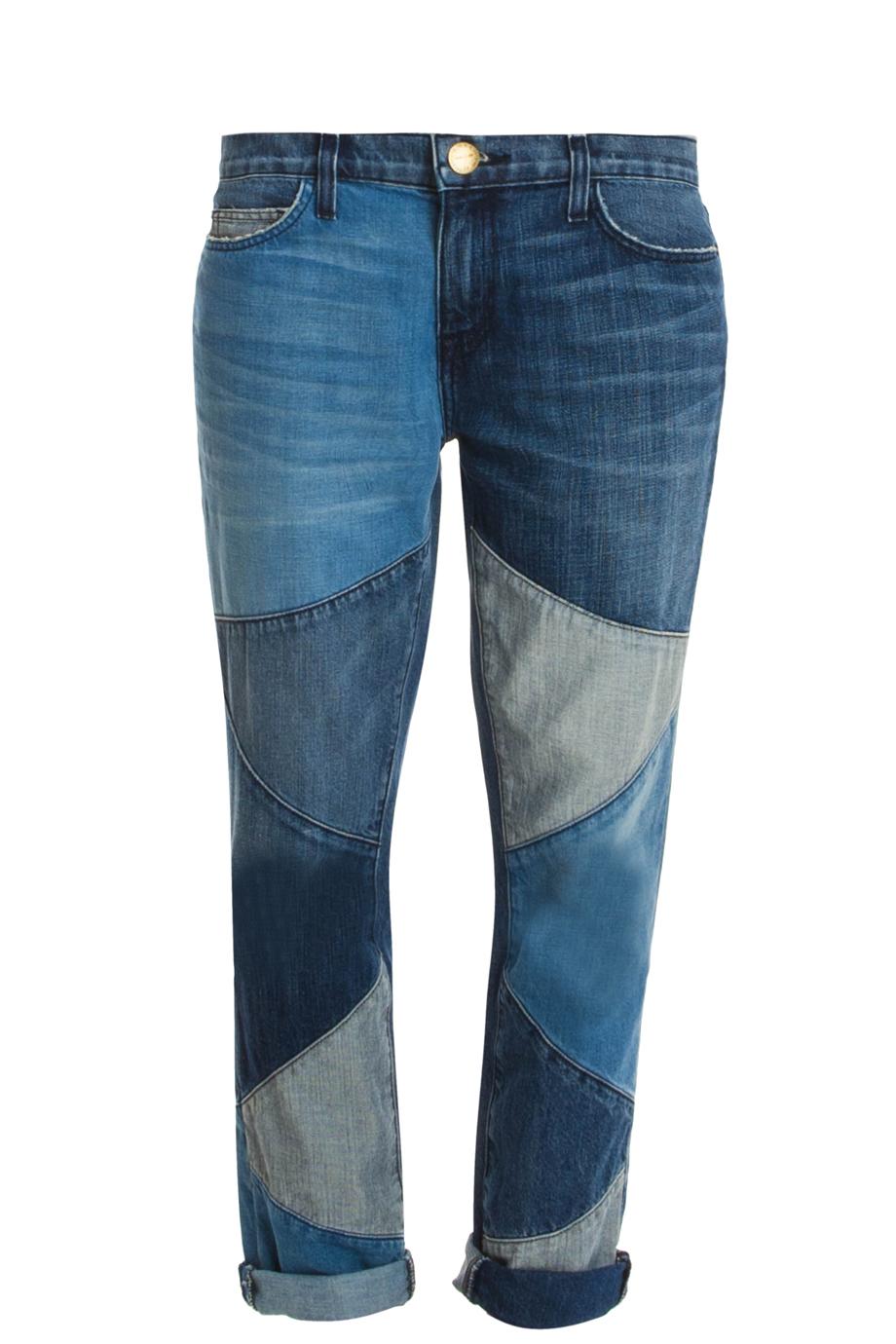 Current/Elliott Stiletto Patchwork Jeans SHOPBOP