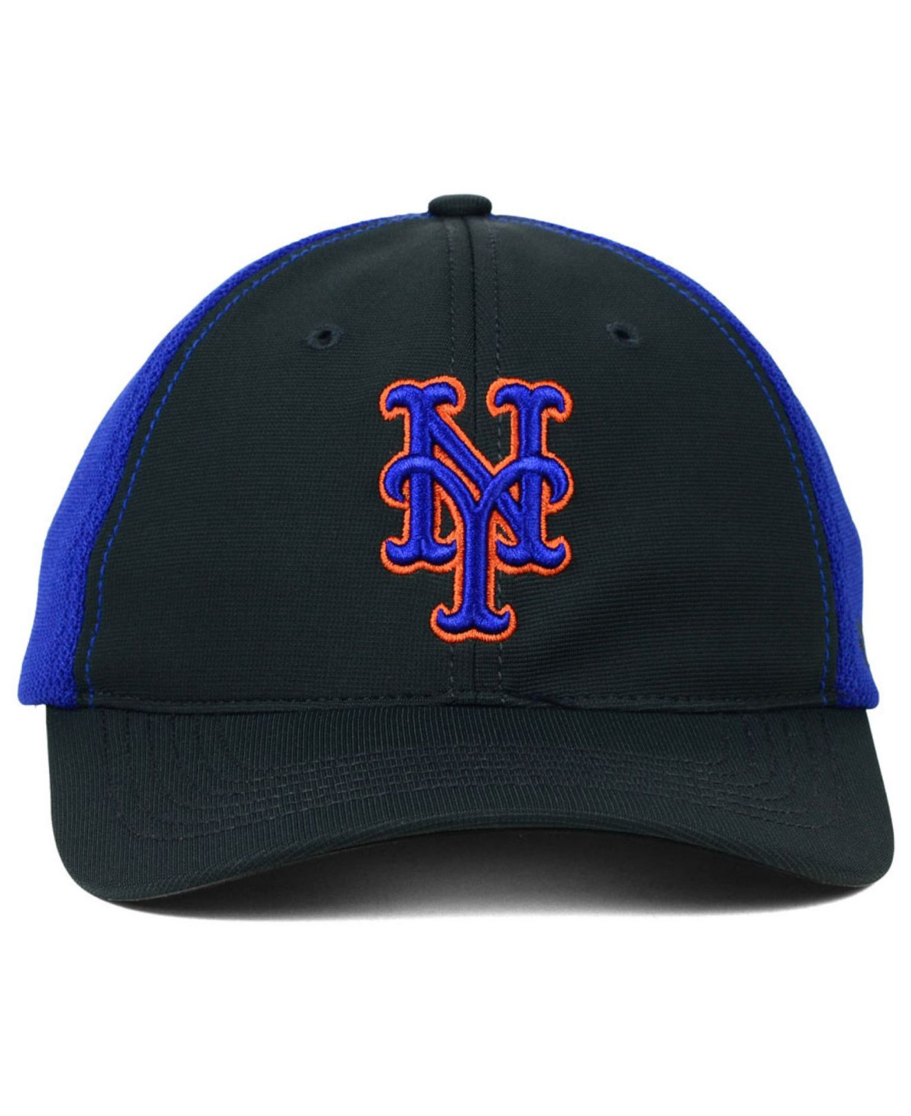 88f87e3f992 Lyst - 47 Brand New York Mets Stretch-Fit Cap in Blue for Men