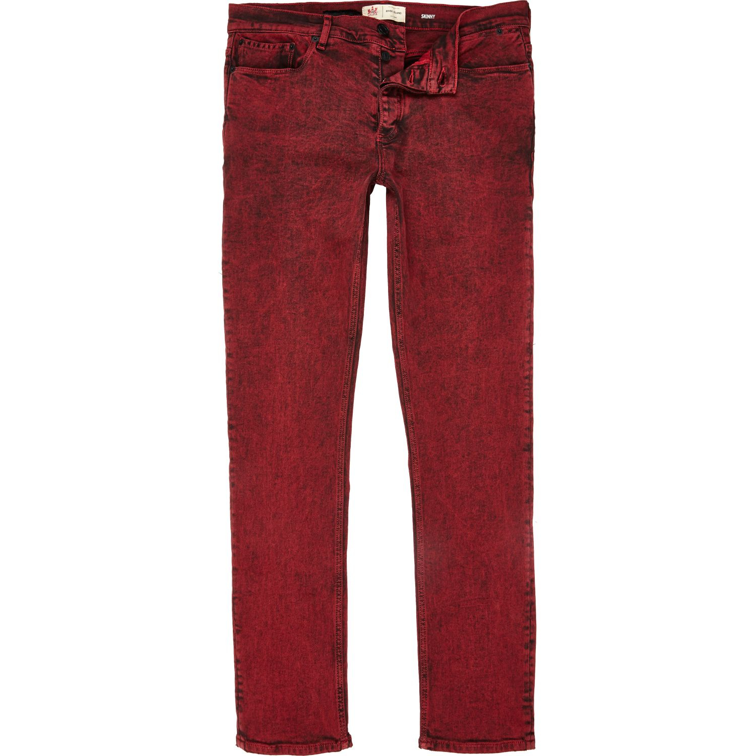 River island Red Acid Wash Flynn Skinny Jeans in Red for Men | Lyst. River  Island Red Acid Wash Flynn Skinny Jeans In Red For Men Lyst - Collection Red Skinny Jeans Men Pictures - Watch Out, There's A