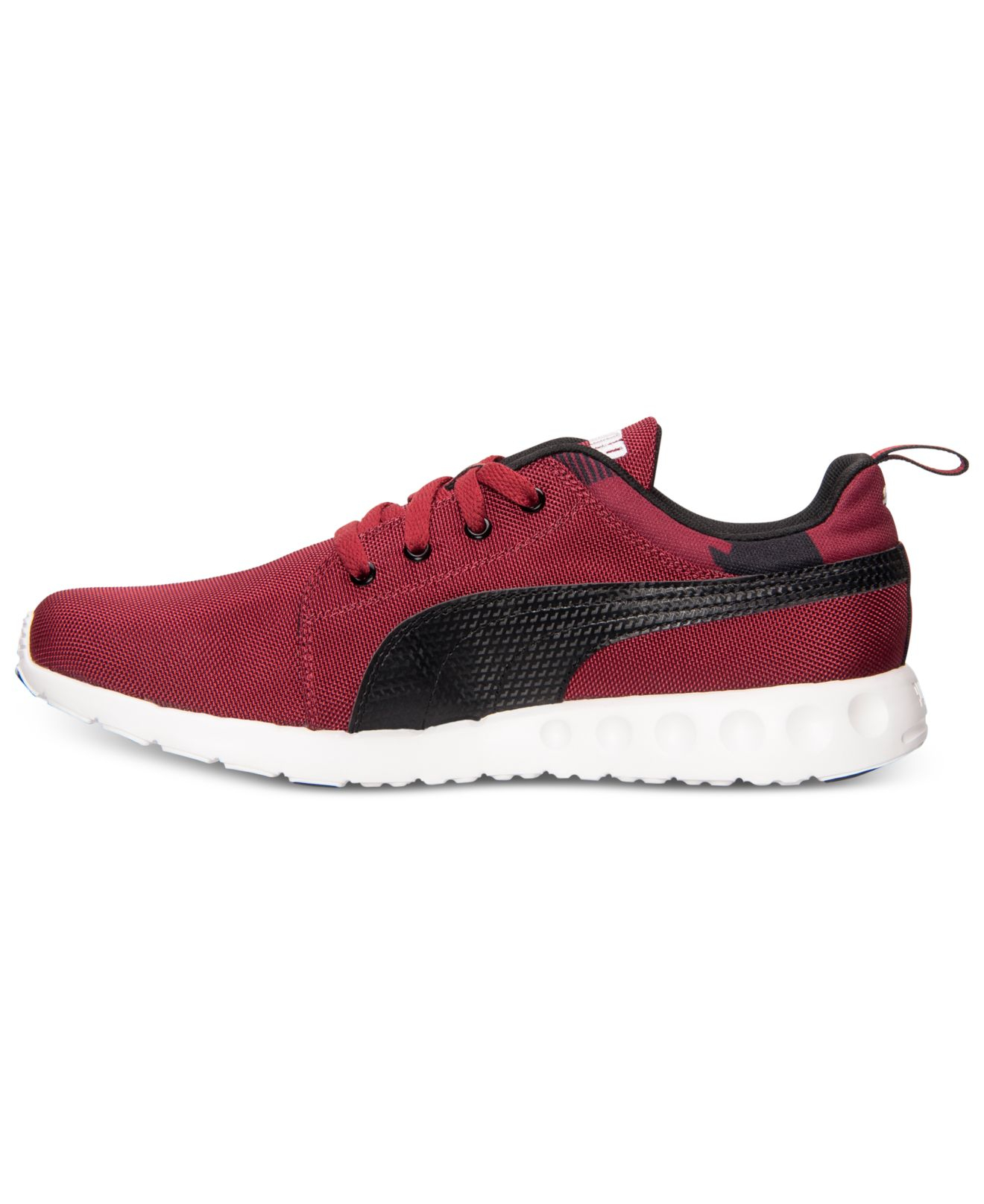 lyst puma men 39 s carson runner casual sneakers from. Black Bedroom Furniture Sets. Home Design Ideas