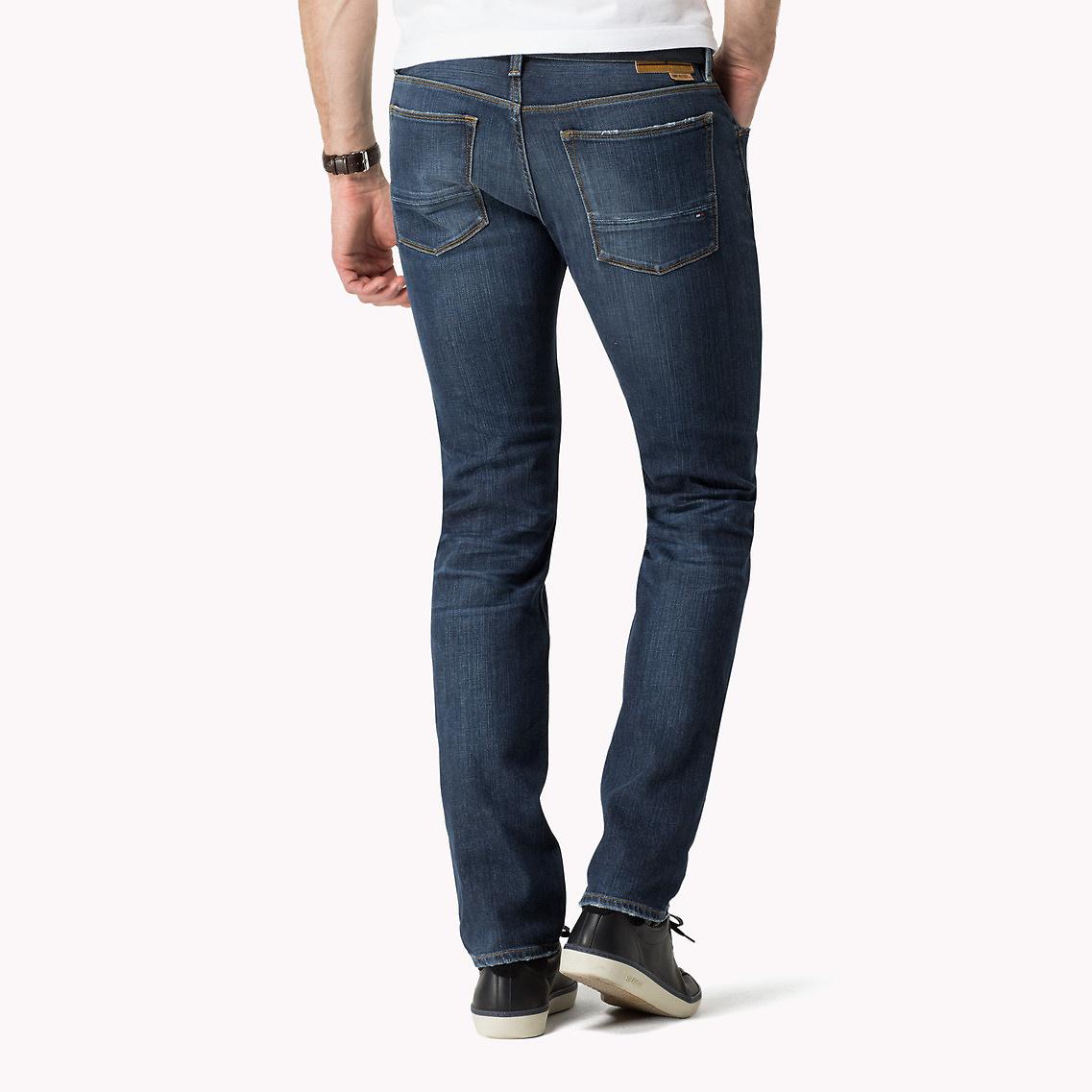 72e82327 Tommy Hilfiger Slim Fit Jeans in Blue for Men - Lyst