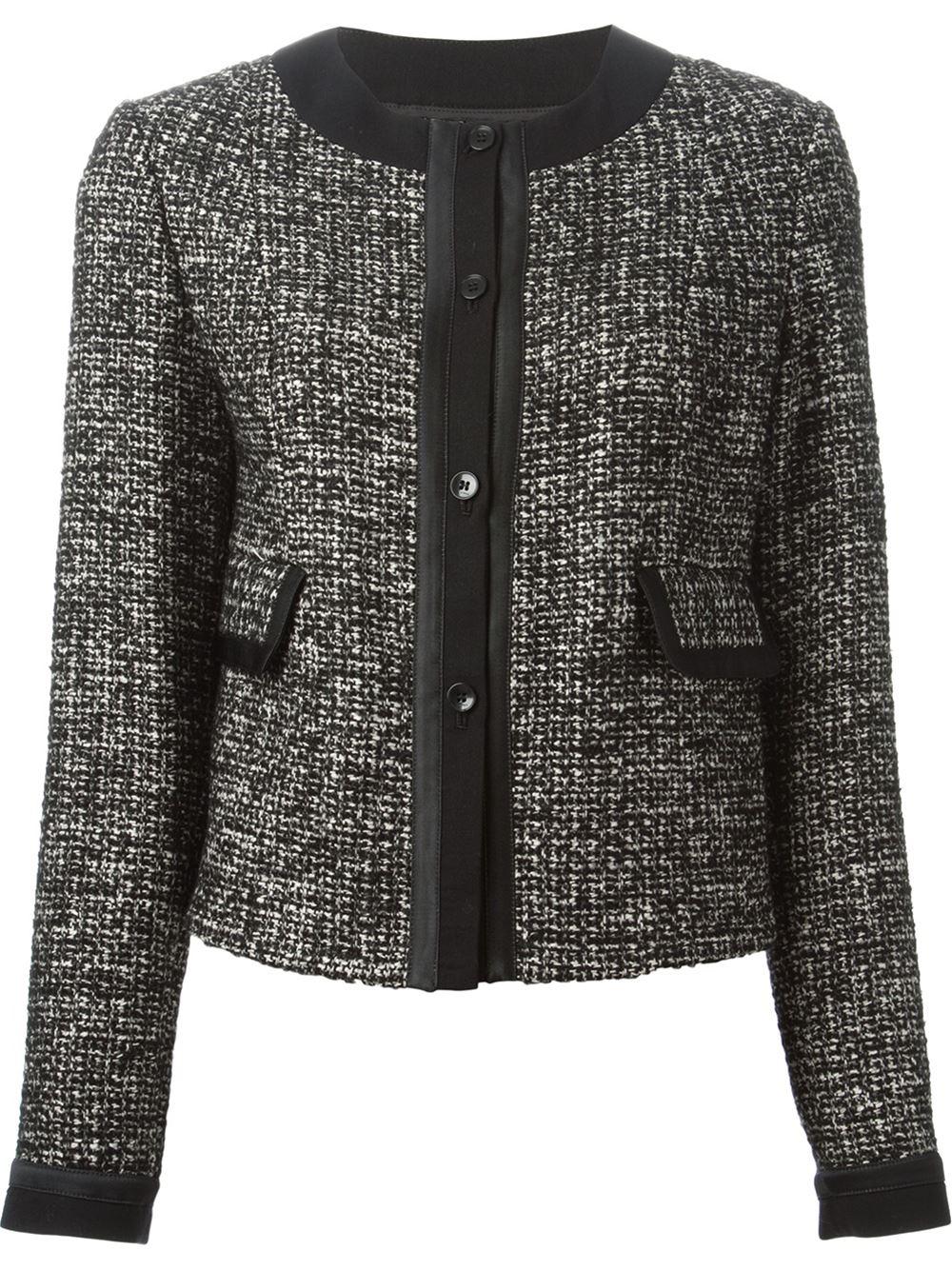 Etro Skirt Suit In Black Lyst