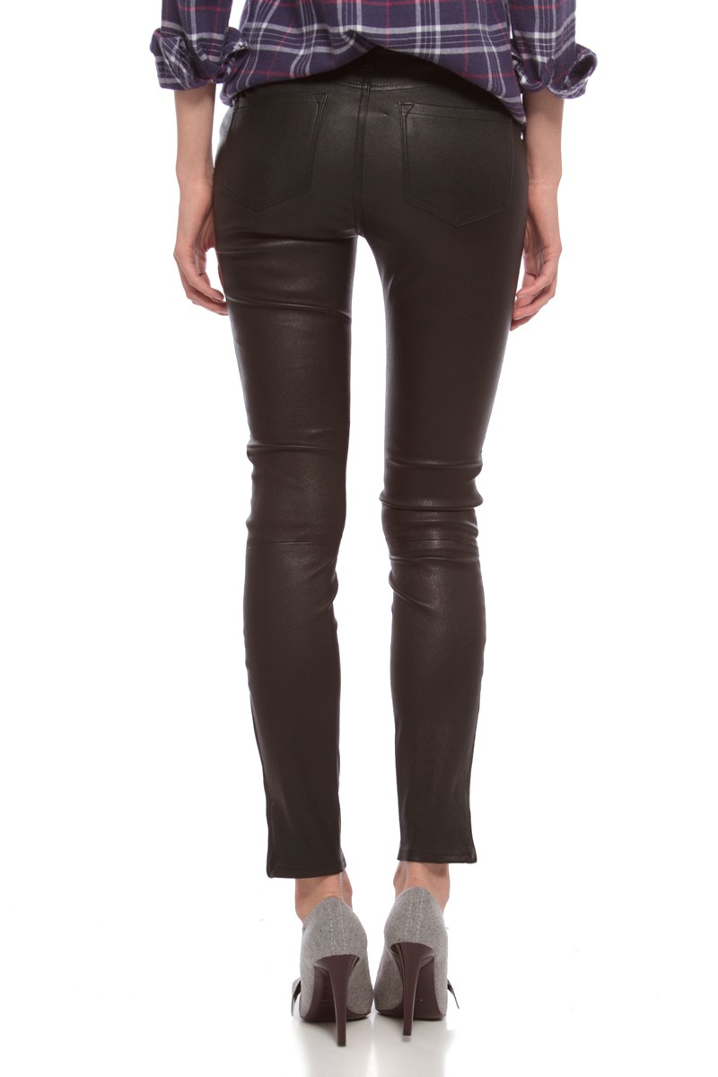 j brand leather pants in black lyst