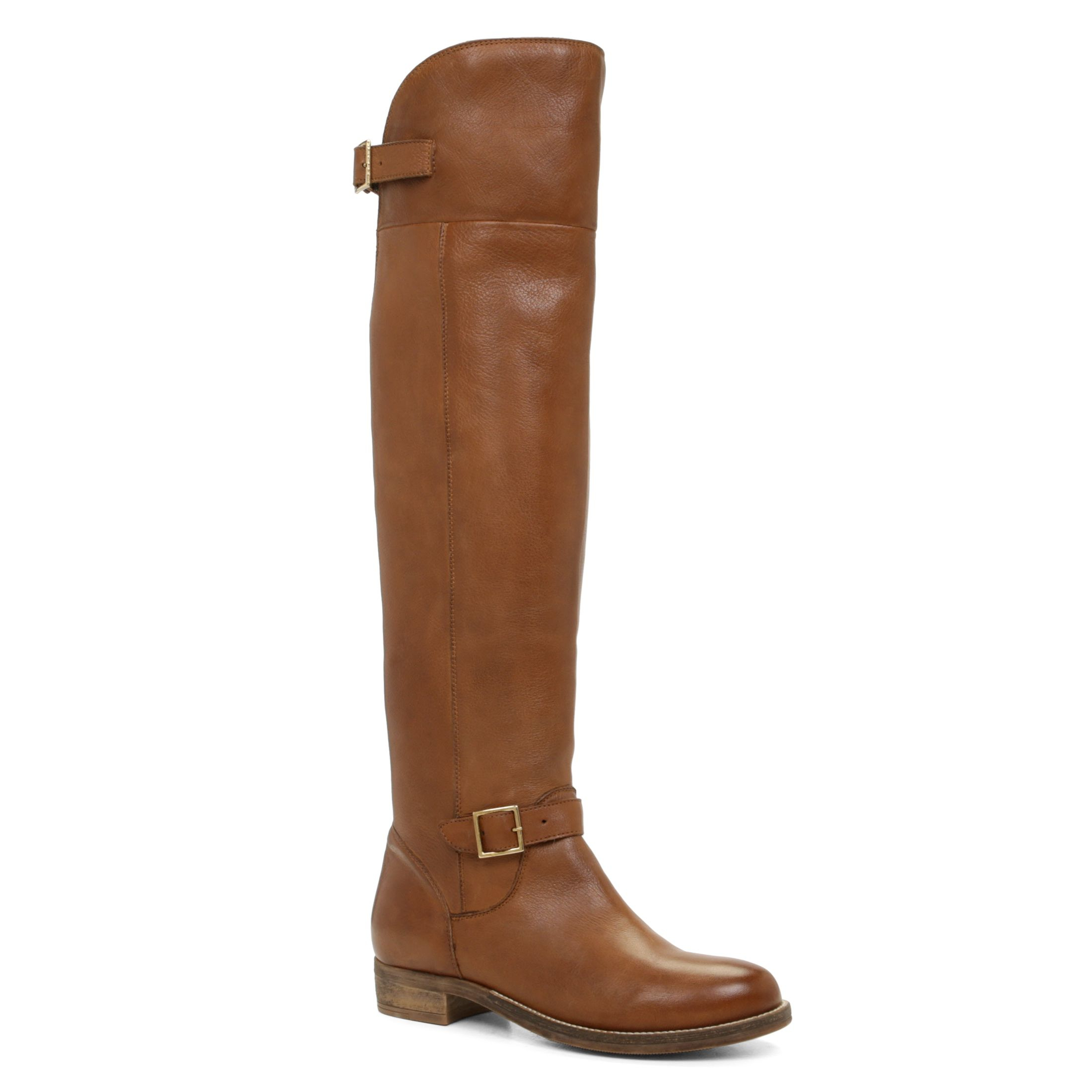 Aldo Gella Flat Over The Knee Boots in Brown | Lyst
