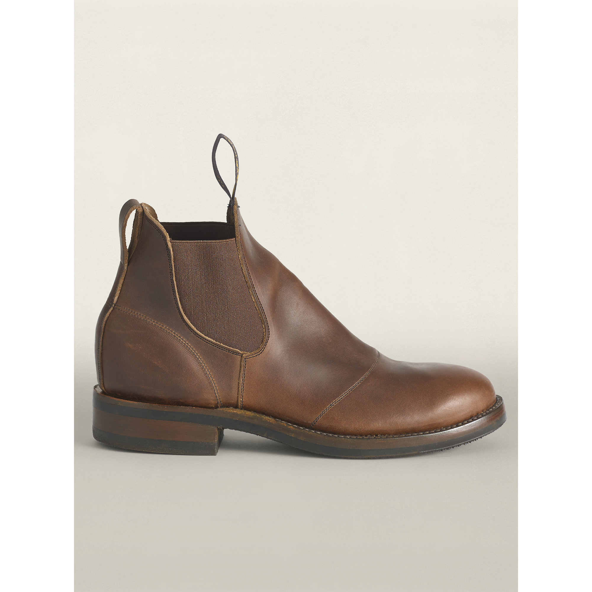 Rrl Congress Leather Work Boot In Brown For Men Lyst