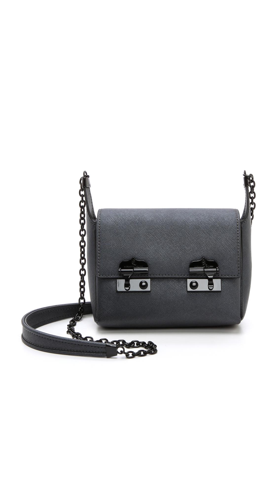 Mcq Baby Suzy Bag In Gun Black Lyst