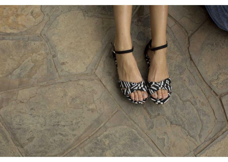 Woven Vegan Womens Correa Sandals - Lyst