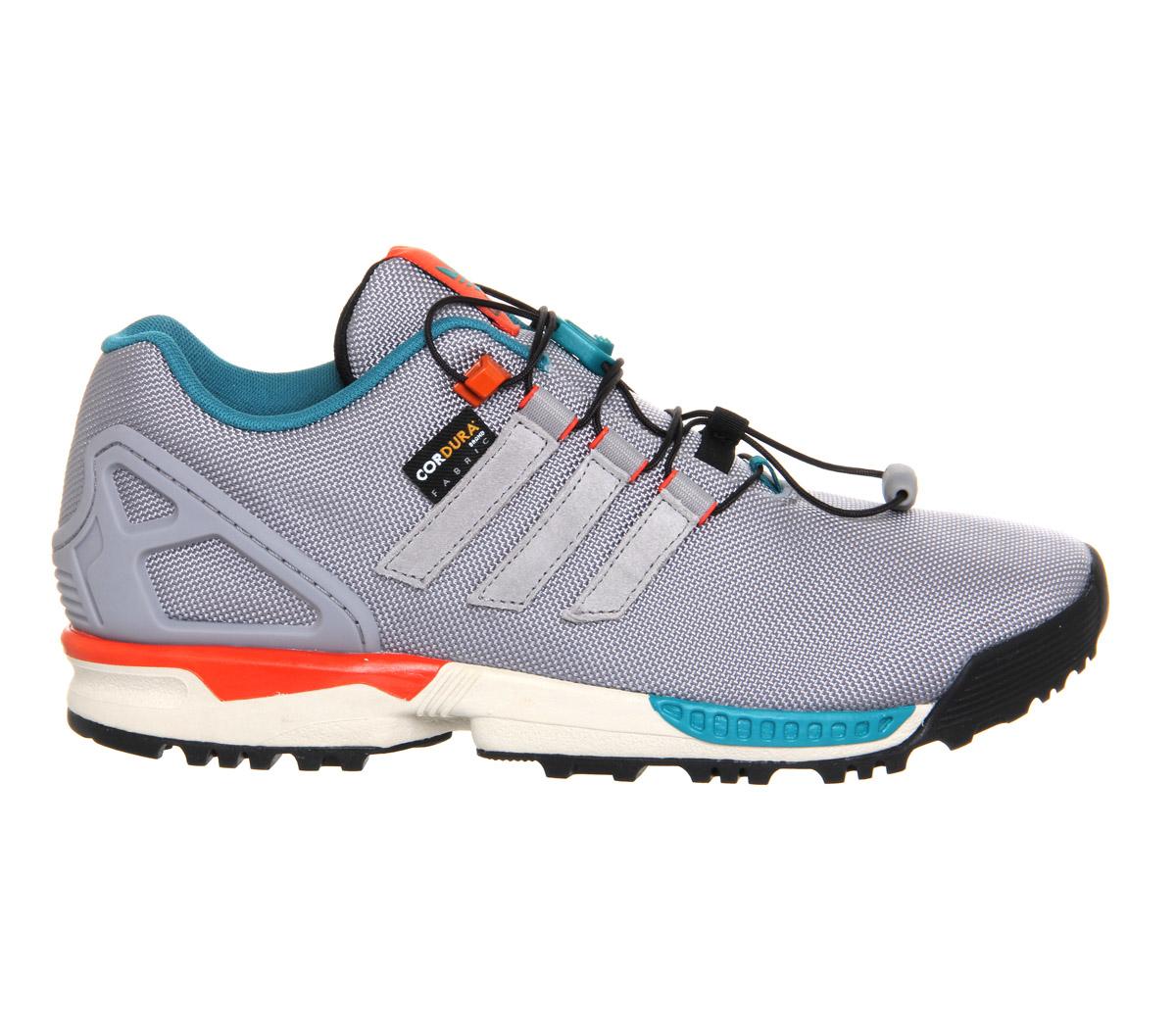 quality design ee549 072c8 Adidas Originals Gray Zx Flux Winter for men