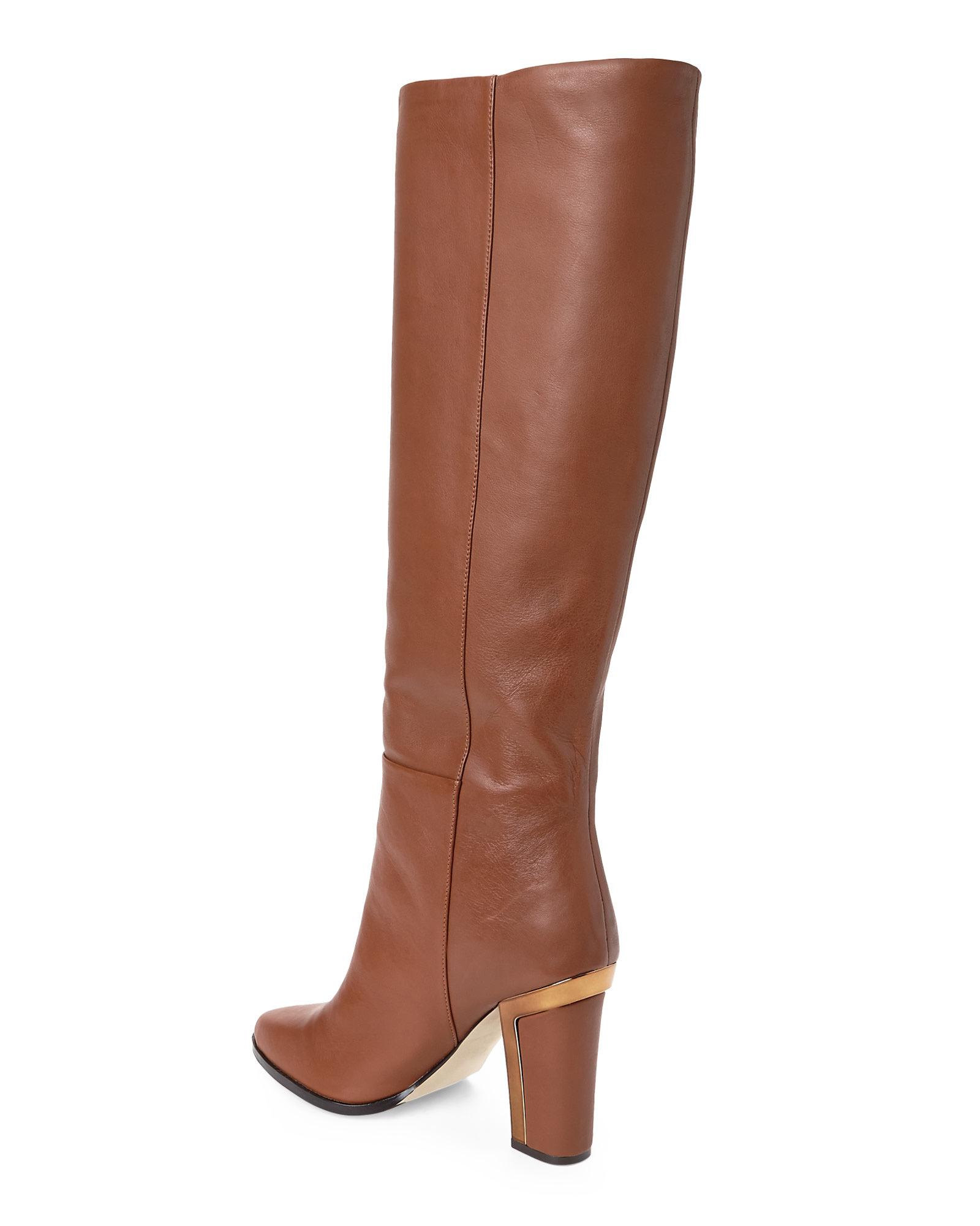 3645308fd8ff BCBGMAXAZRIA Tan Oak Tall Boots in Brown - Lyst