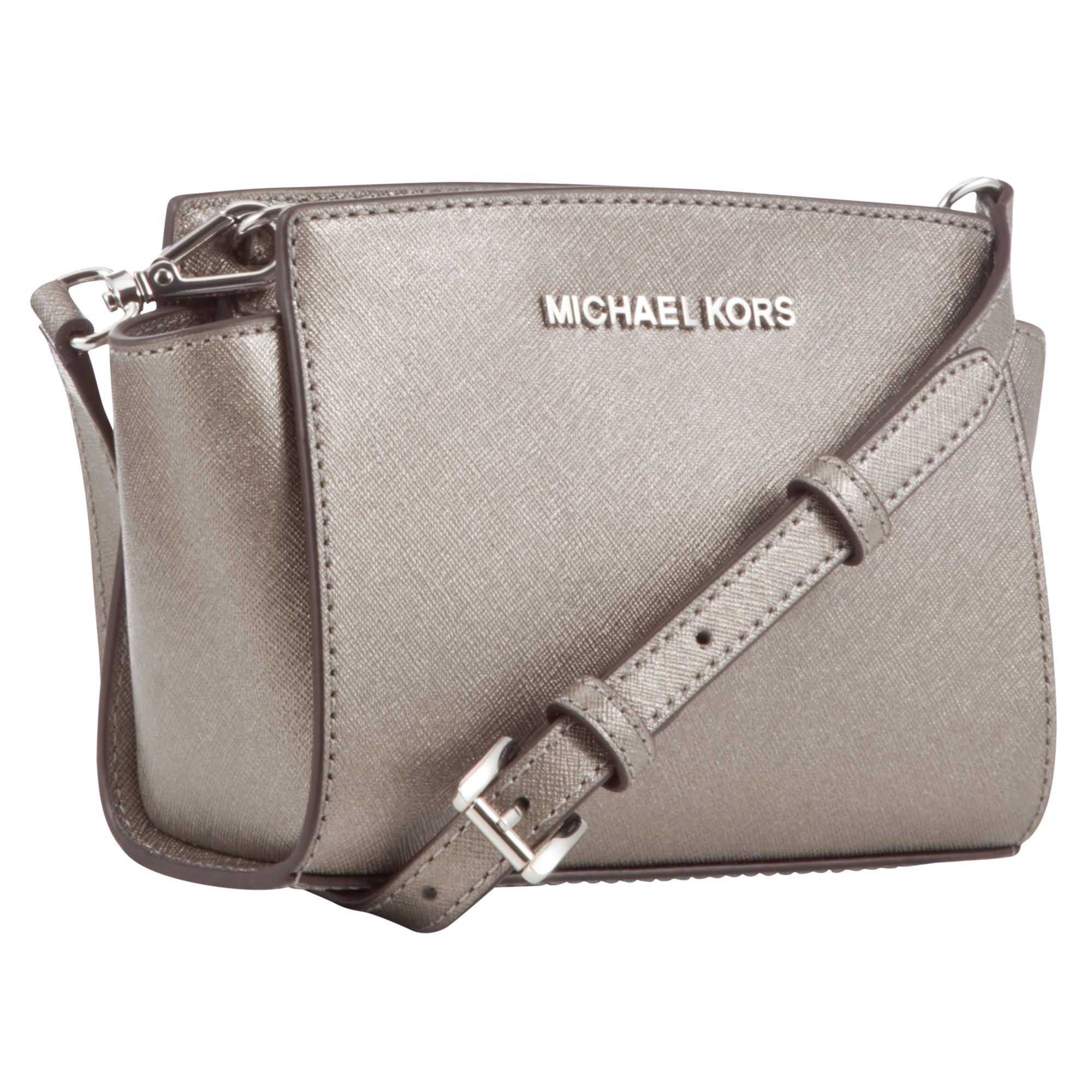 644740d2e428 MICHAEL Michael Kors Selma Saffiano Leather Mini Messenger Bag in ...