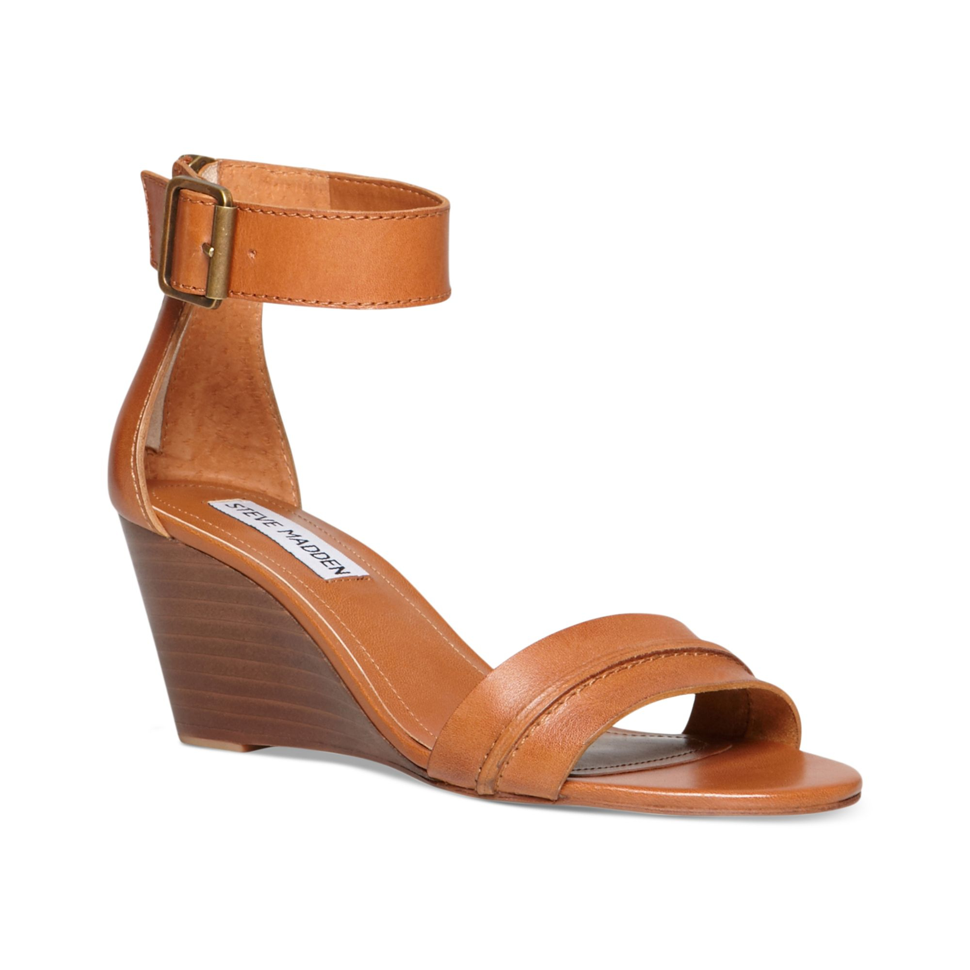 Neliee Lyst Womens Sandals In Steve Brown Madden Wedge O8wXn0Pk