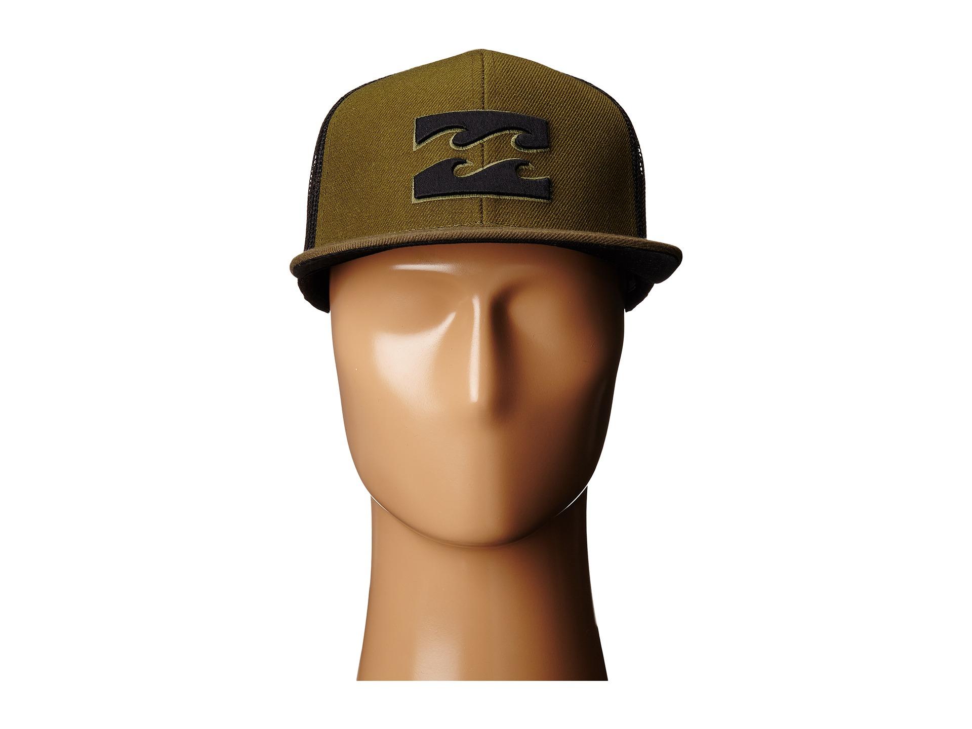9e8028bcbc2 Lyst - Billabong All Day Trucker Hat in Green for Men