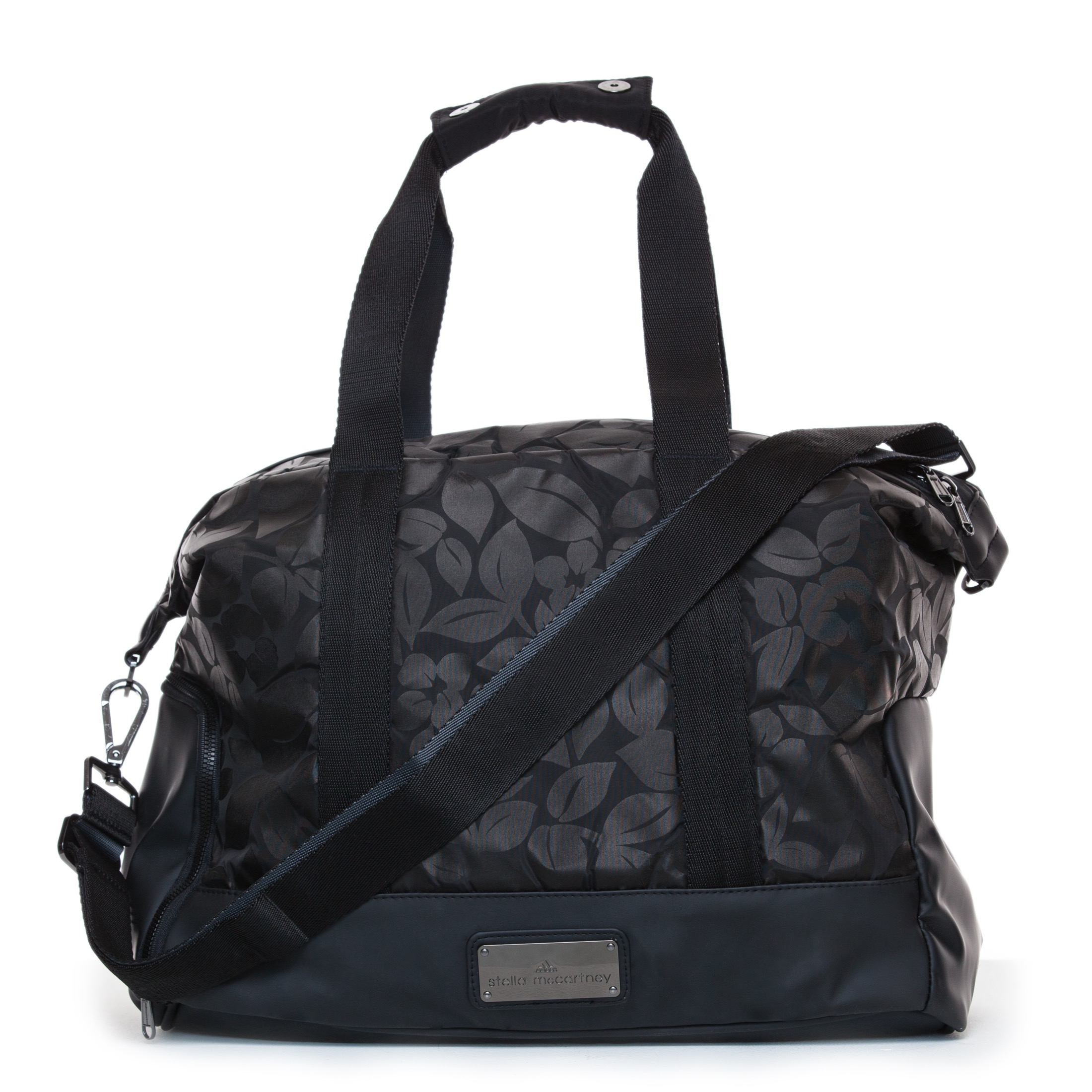 Lyst - adidas By Stella McCartney Small Gym Bag in Black bee9363ca1d86
