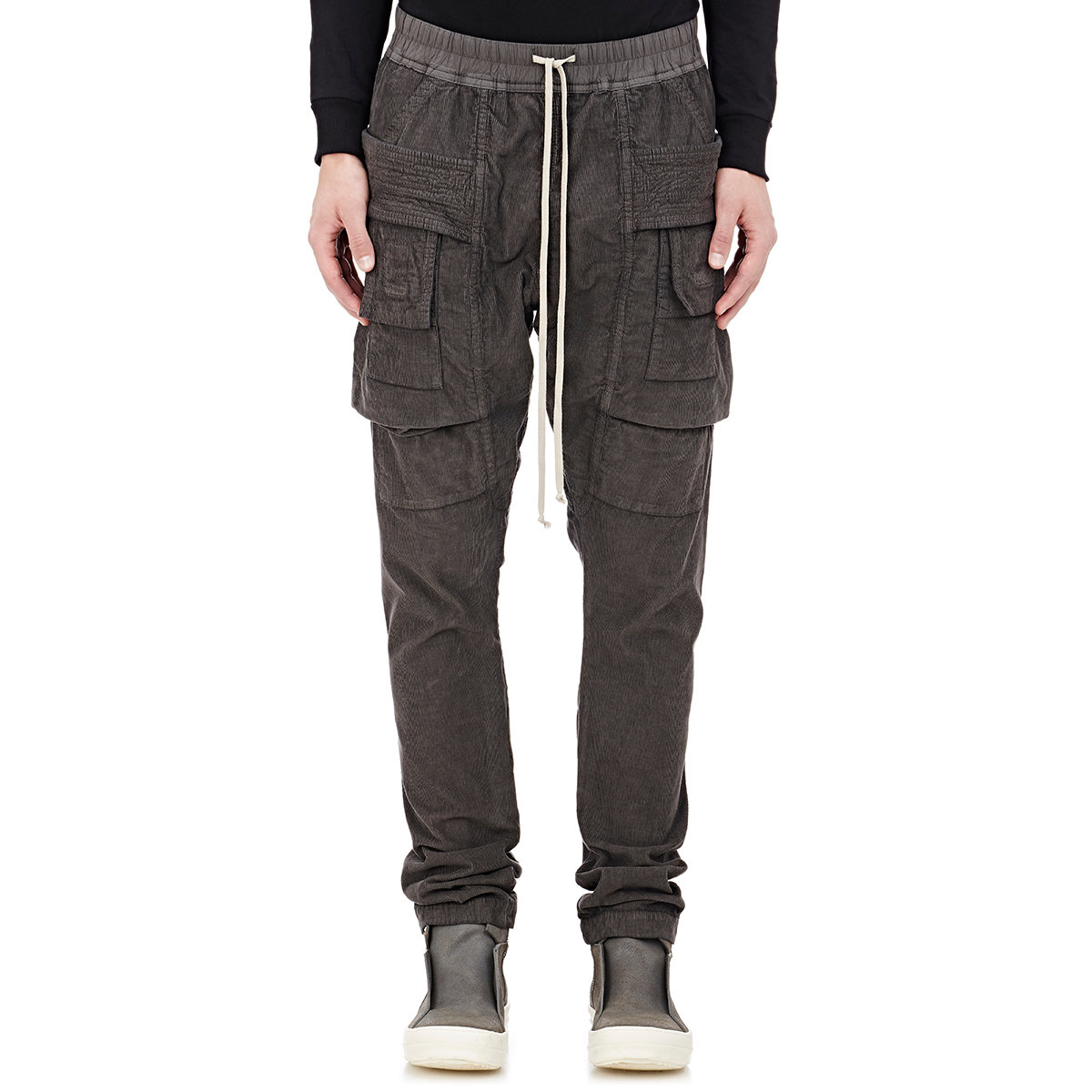 af1d20147c6a Lyst - DRKSHDW by Rick Owens Creatch Cargo Pants in Gray for Men