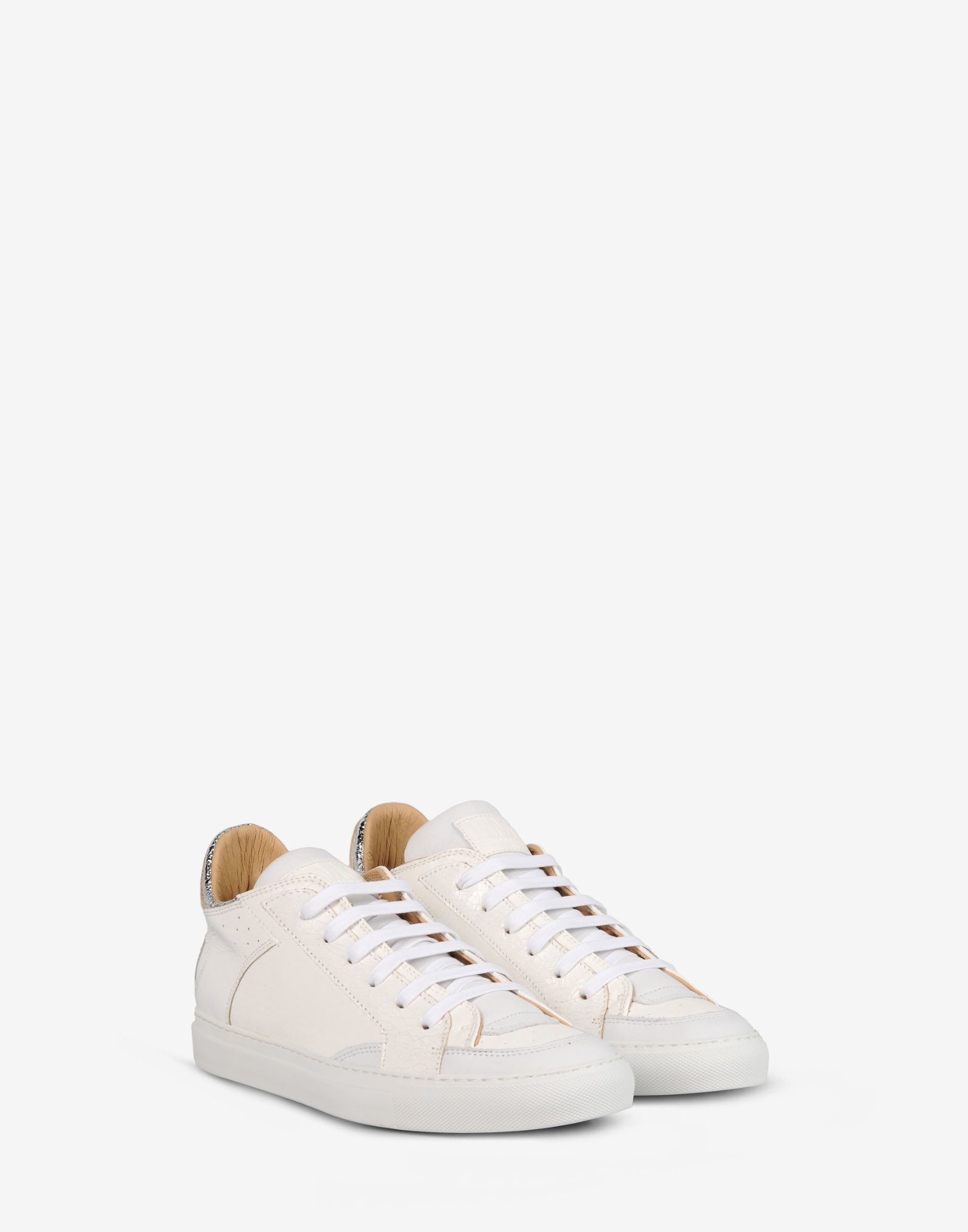 Lyst mm6 by maison martin margiela low top leather for Mm6 maison margiela