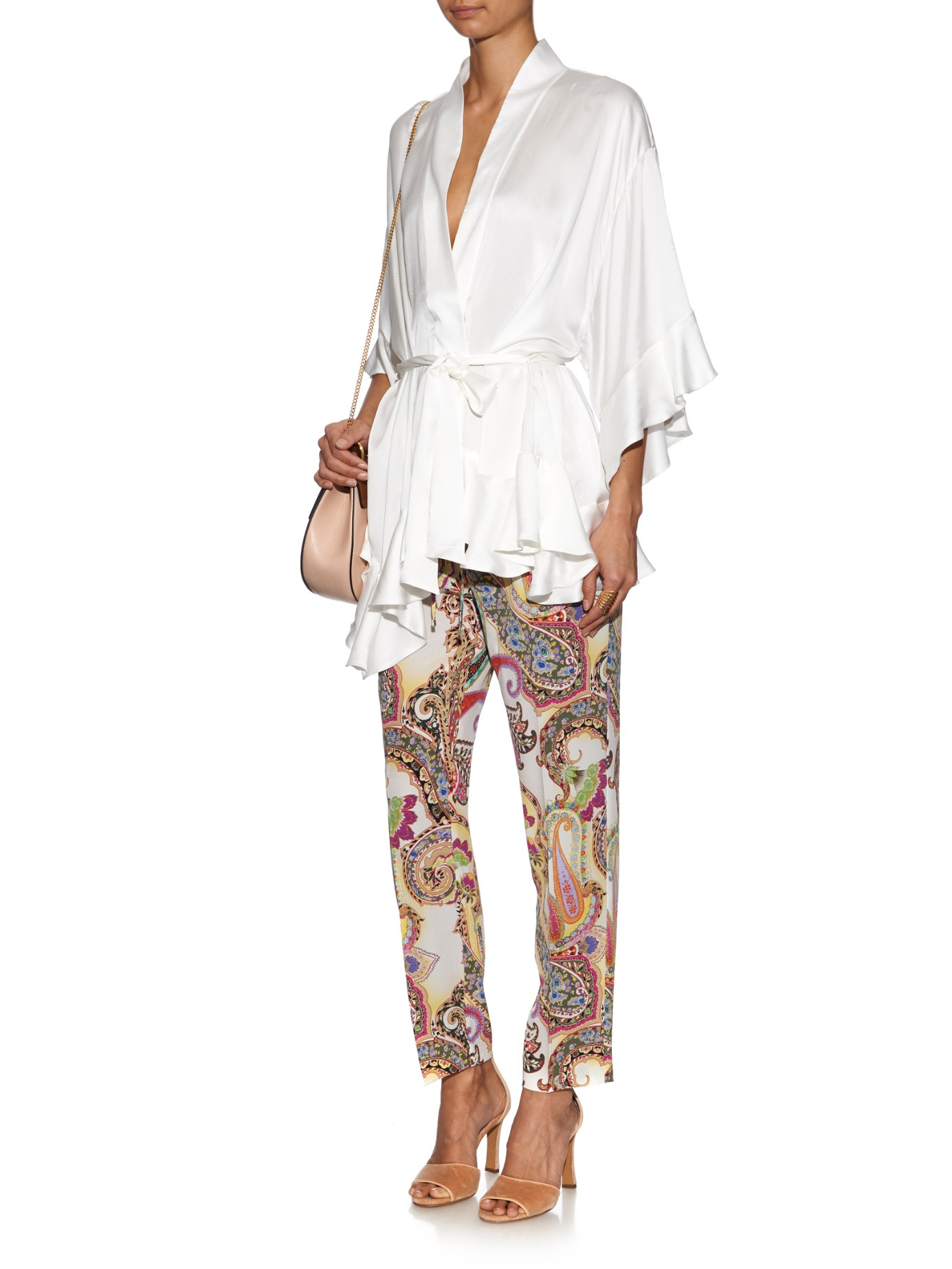 Perfect Official Cheap Price Printed trousers Etro Discount Pay With Paypal Sale Sast Lowest Price 83GHsD9a