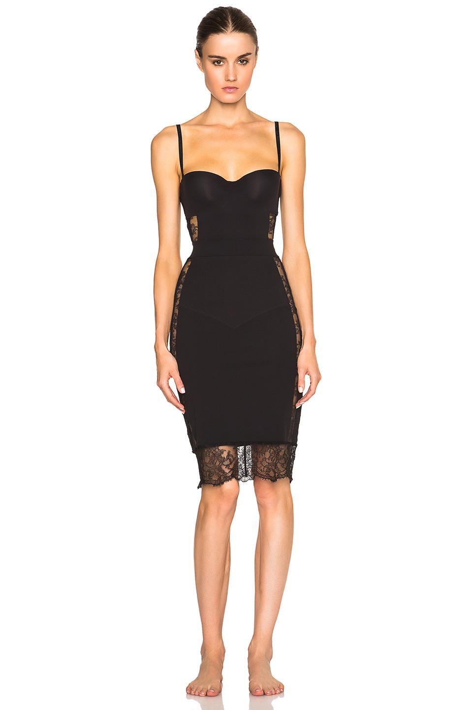 La Perla 2014 Fall Winter Lingerie Campaign Photos: La Perla Shape Allure Dress In Black