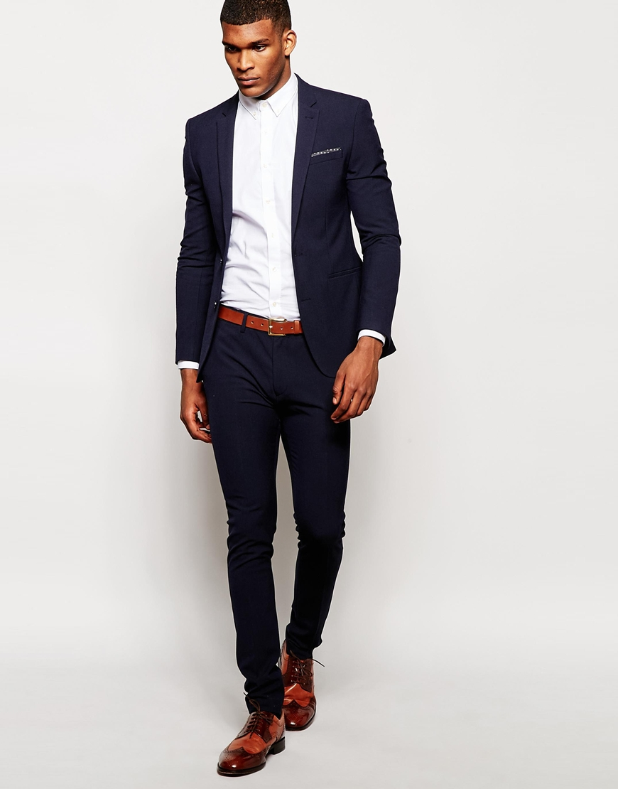 Buy ASOS Men's Red Design Slim Suit Pants In Burgundy. Similar products also available. SALE now on!
