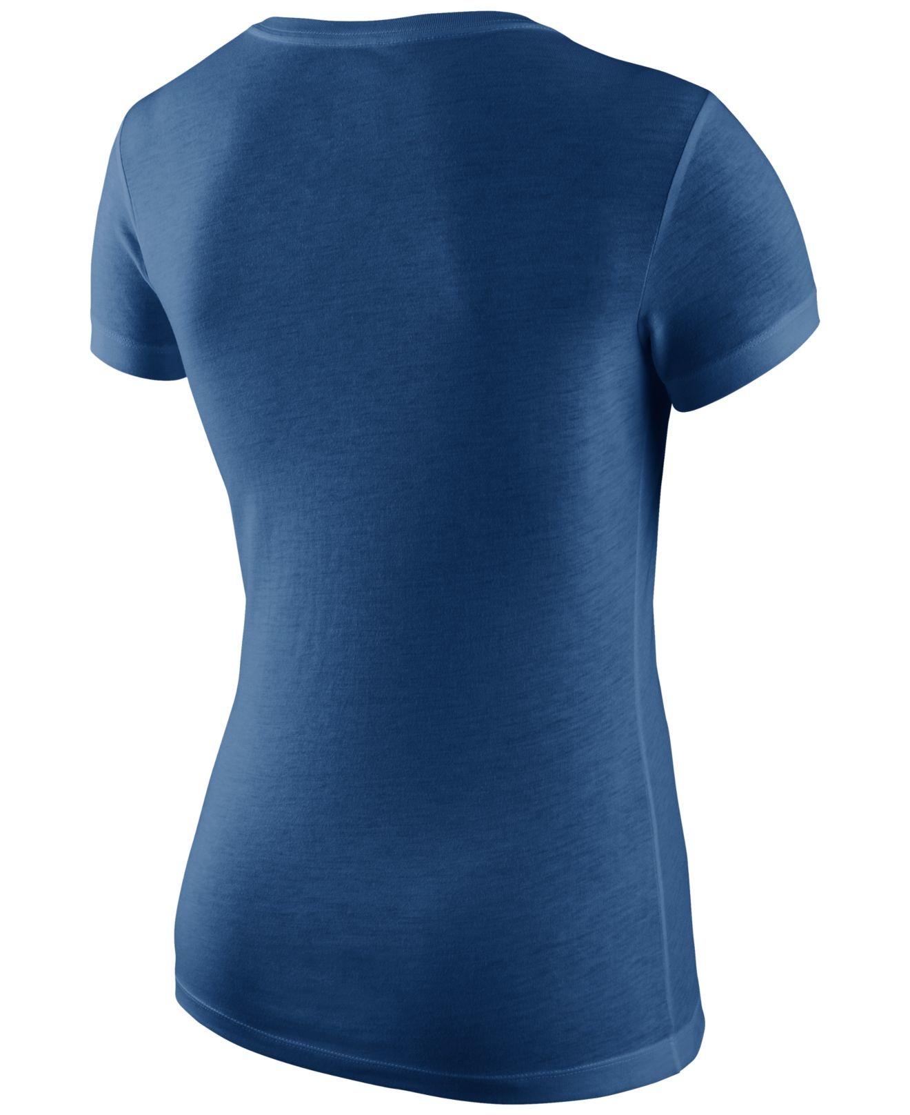 Nike Women 39 S Indianapolis Colts Local T Shirt In Blue Lyst